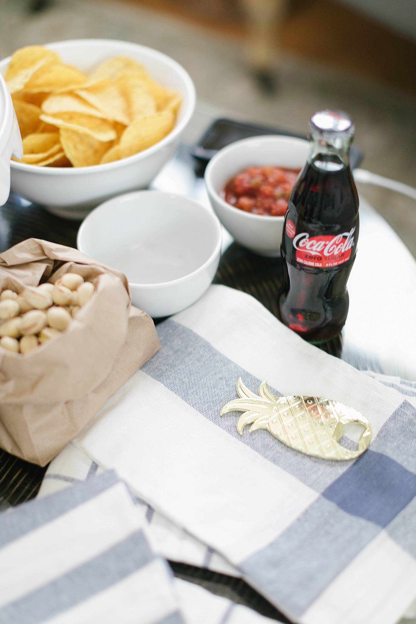 football party Coke Zero tailgating at home party setup ideas