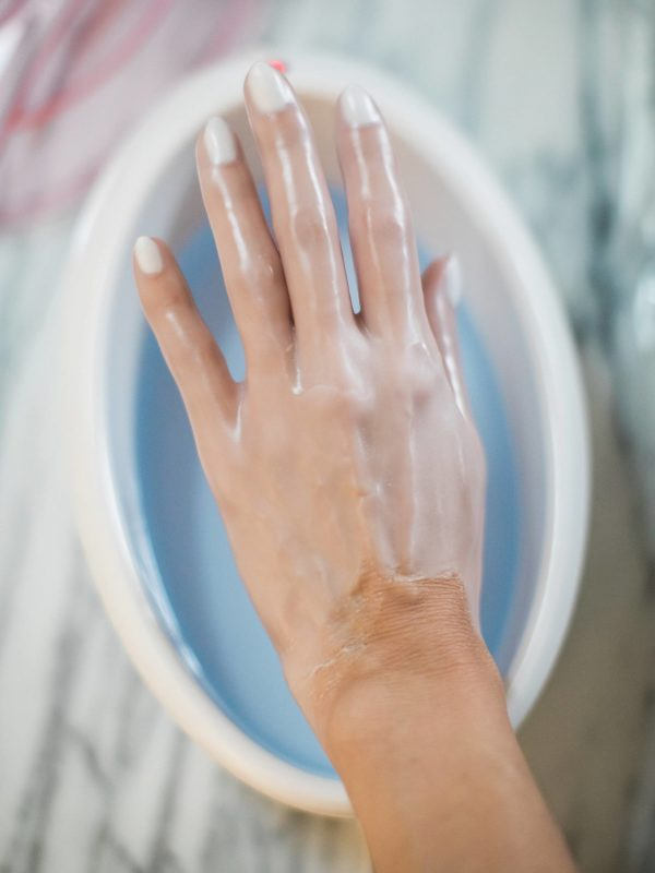 conair paraffin wax bath - a how to and before after photos