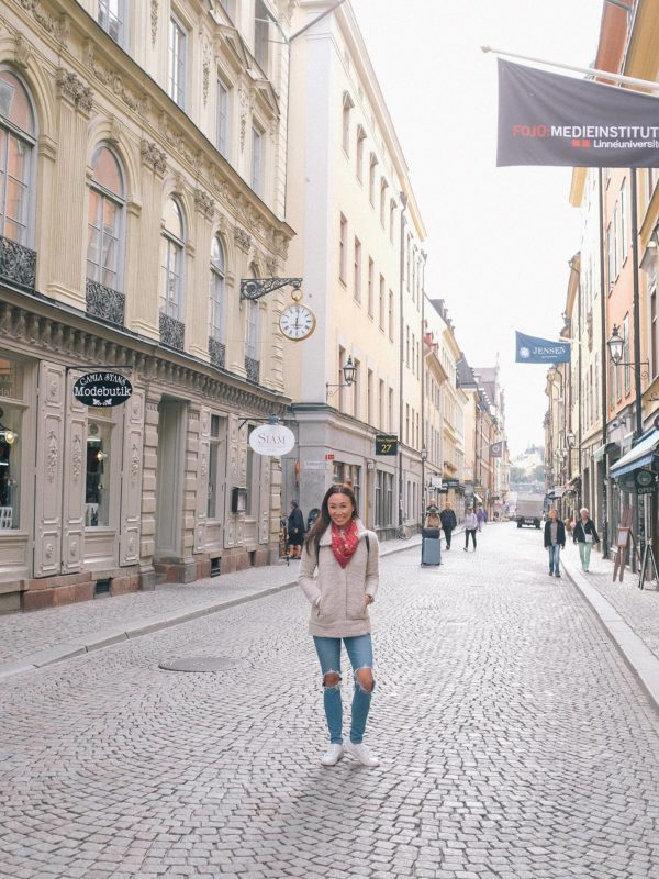 Photo tour of Stockholm: old town Gamla Stan
