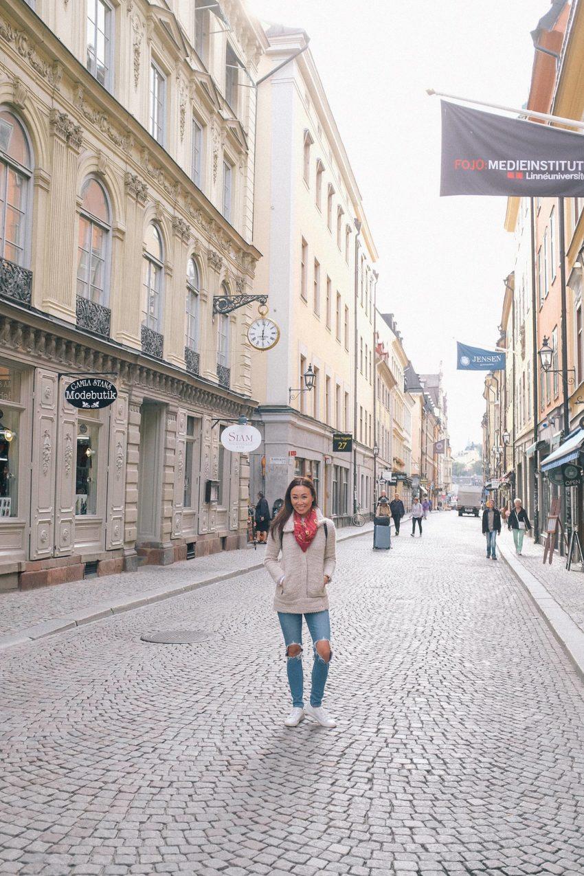 Photo tour of Stockholm: old town Gamla Stan