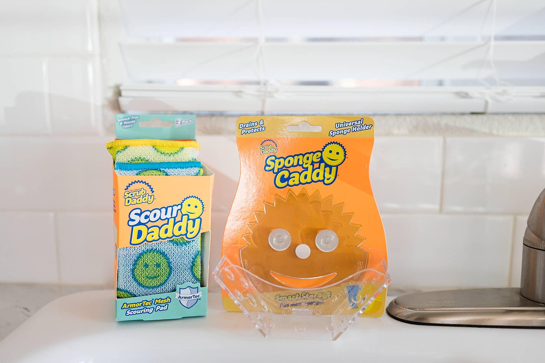 Scrub Daddy: Sponge Caddy & Scour Daddy