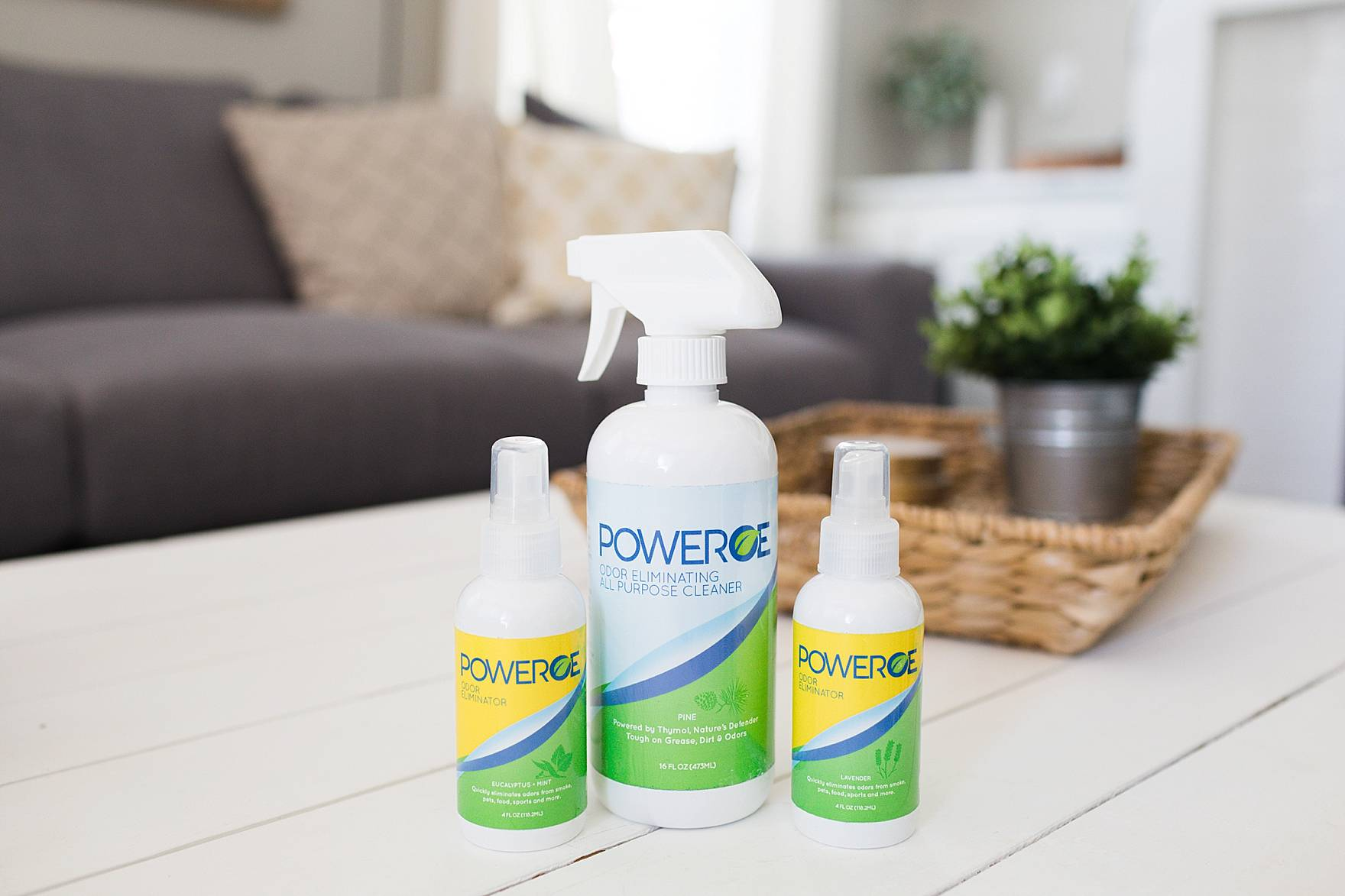 PowerOE - Odour Eliminating Spray and Cleaner + Odour Eliminator