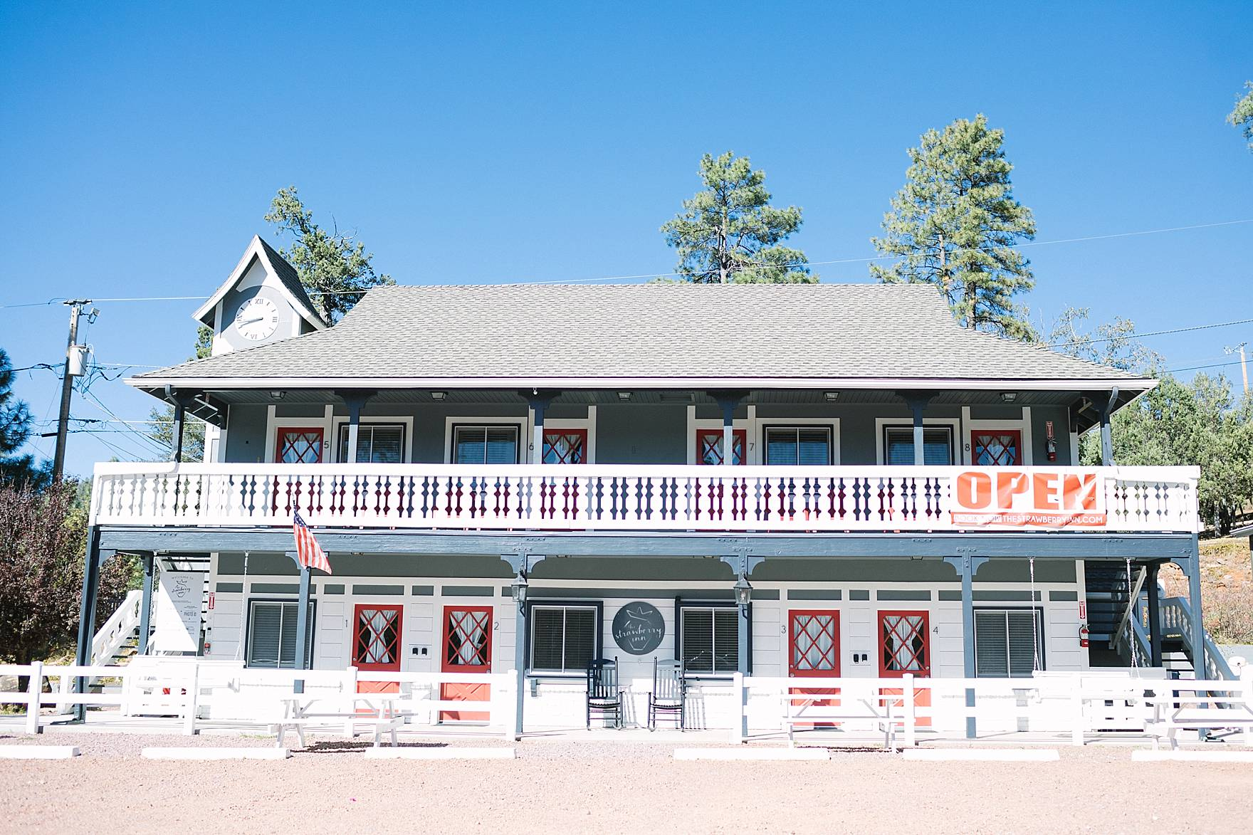 The Strawberry Inn - Strawberry Arizona cute little boutique hotel