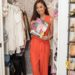 Diana Elizabeth blogger in tiny closet makeover featured in HGTV magazine // closet tour