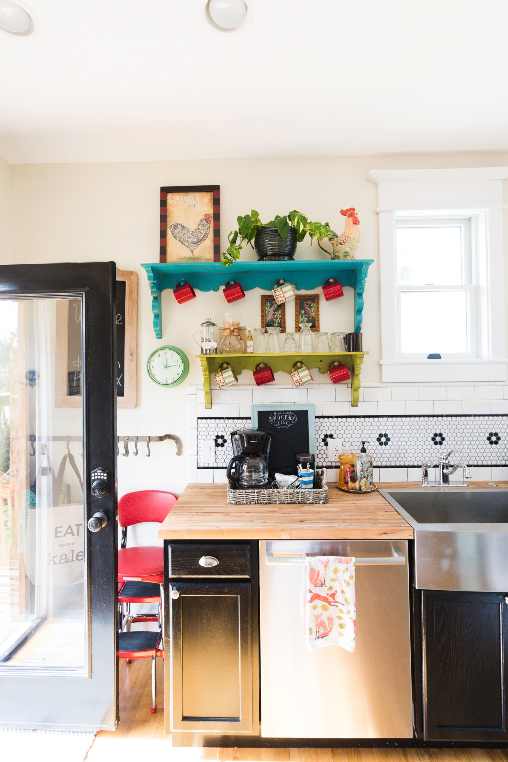 carriage house downtown boho farm and home kitchen room
