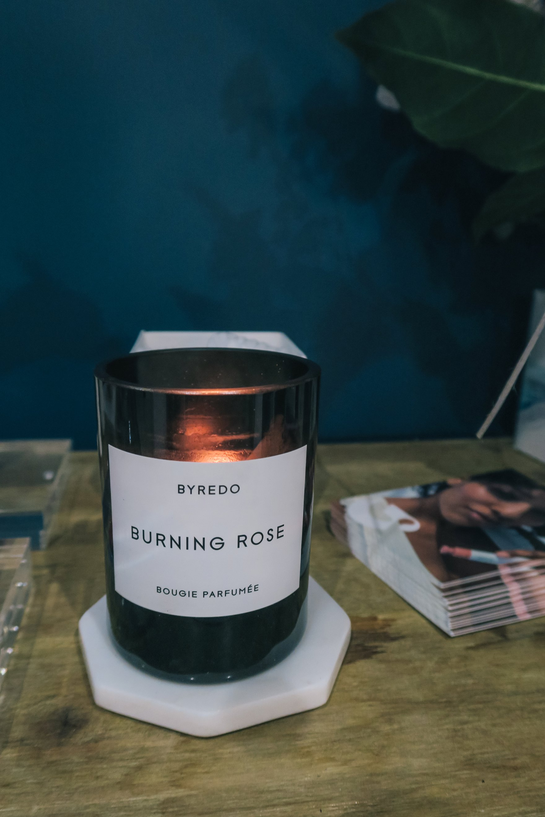 burning rose candle presentation on instagram // a business and blogging social media workshop called The Workshop PHX by the Bloguettes - a review.