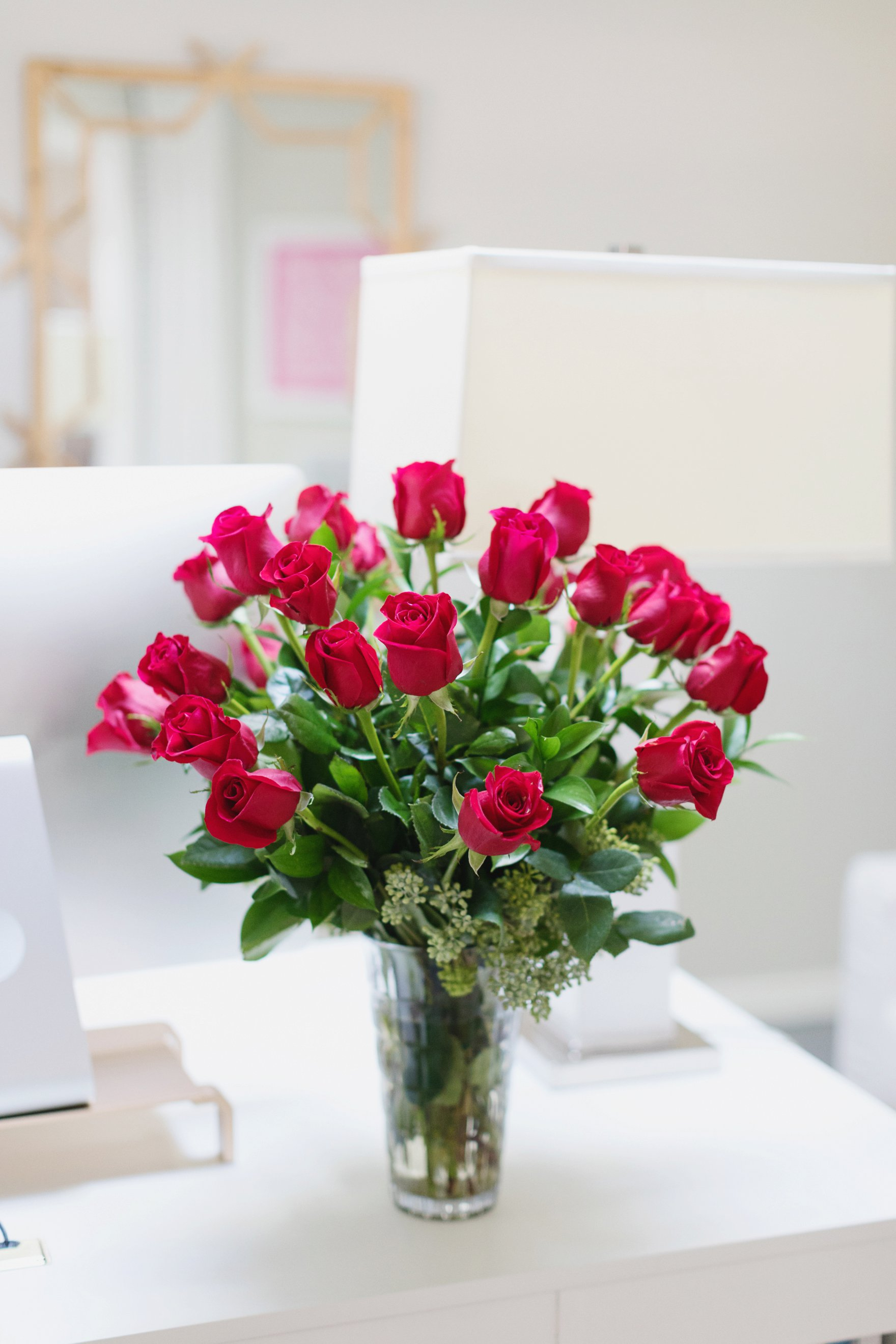 FTD two dozen roses for valentine's day