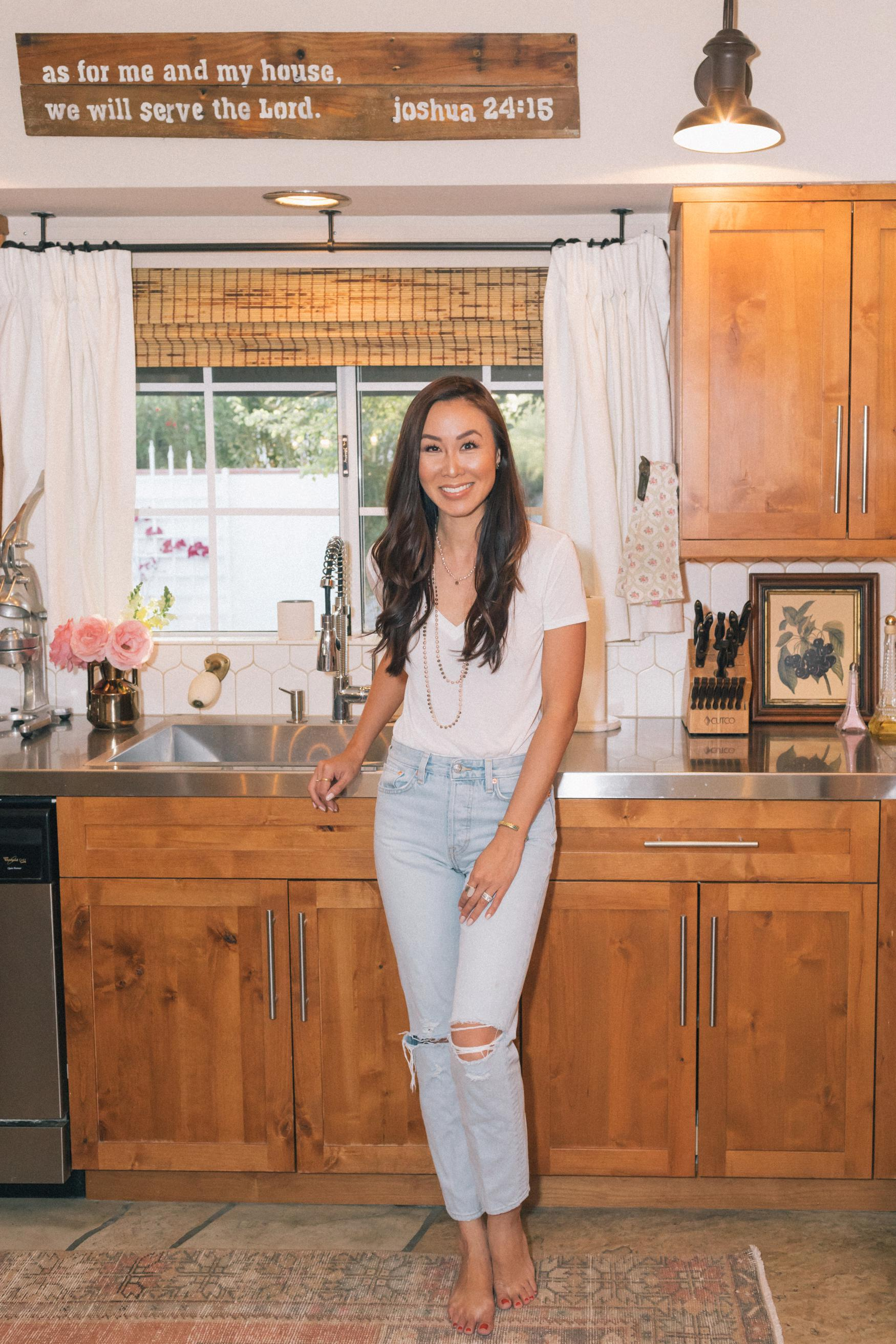 lifestyle home blogger Diana Elizabeth - adding window panes to already existing windows so easy with New Panes. A review on the blog of before and afters