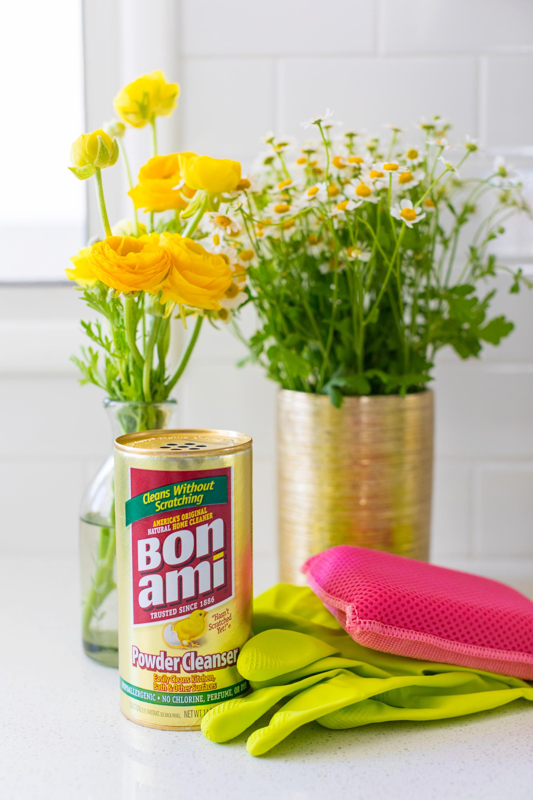 Bon Ami non toxic household cleaner