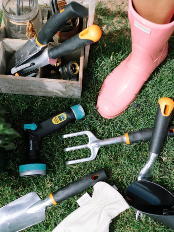 new garden tools from Fiskars and gilmour
