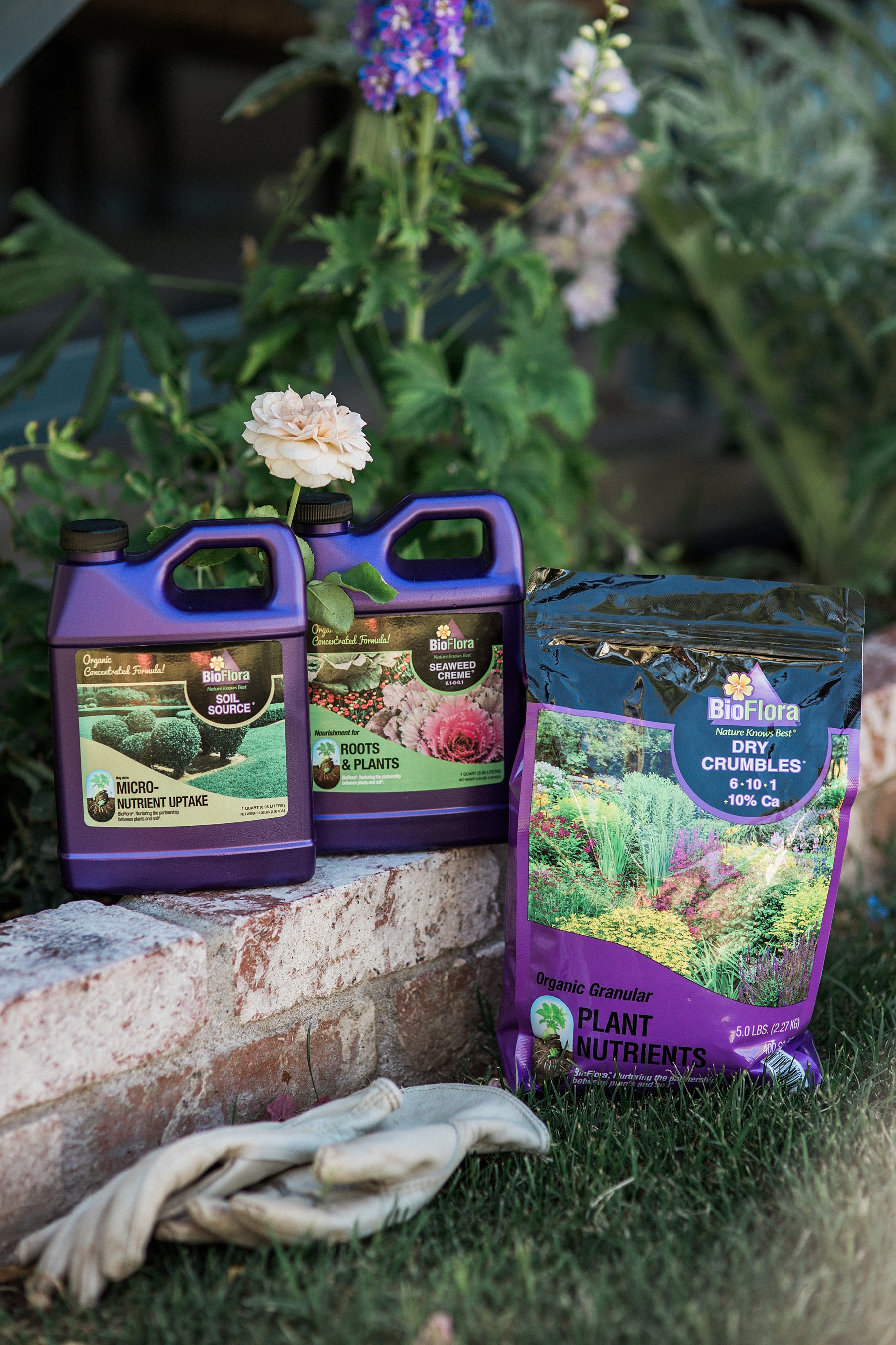 BioFlora organic fertilization for gardens and shrubs and trees a review