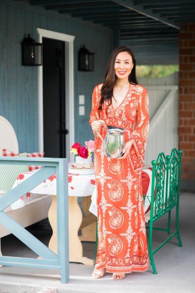 Patio home makeover lifestyle home blogger Diana Elizabeth