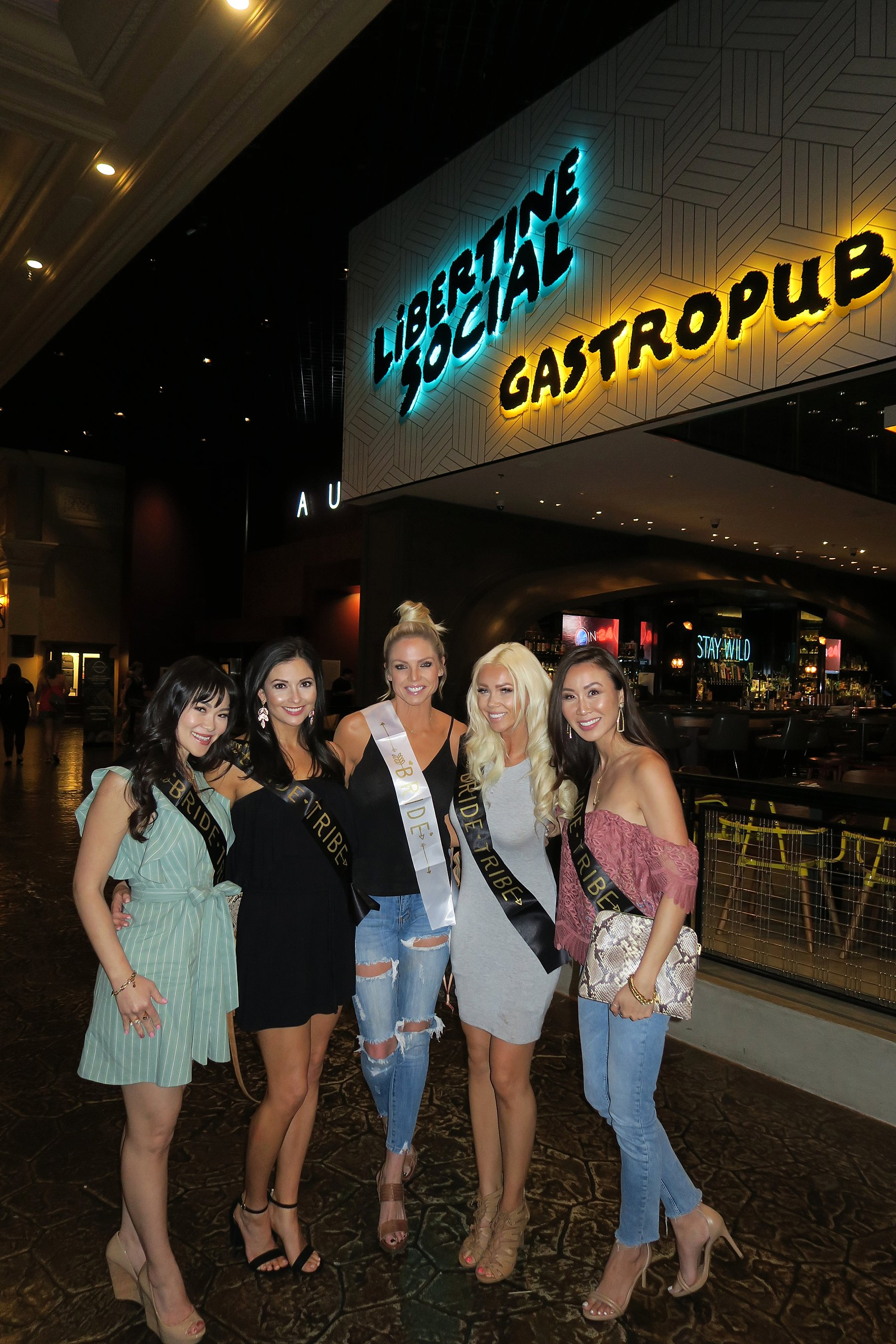 Vegas girl's trip fun things to do - eat at liberty social, like tapas