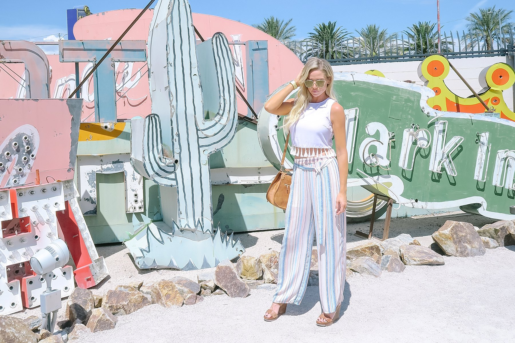 Things to do in Vegas, fun Clean unique and instagrammable! Las Vegas Neon Museum // great for instagram Ever blogger needs to check it out