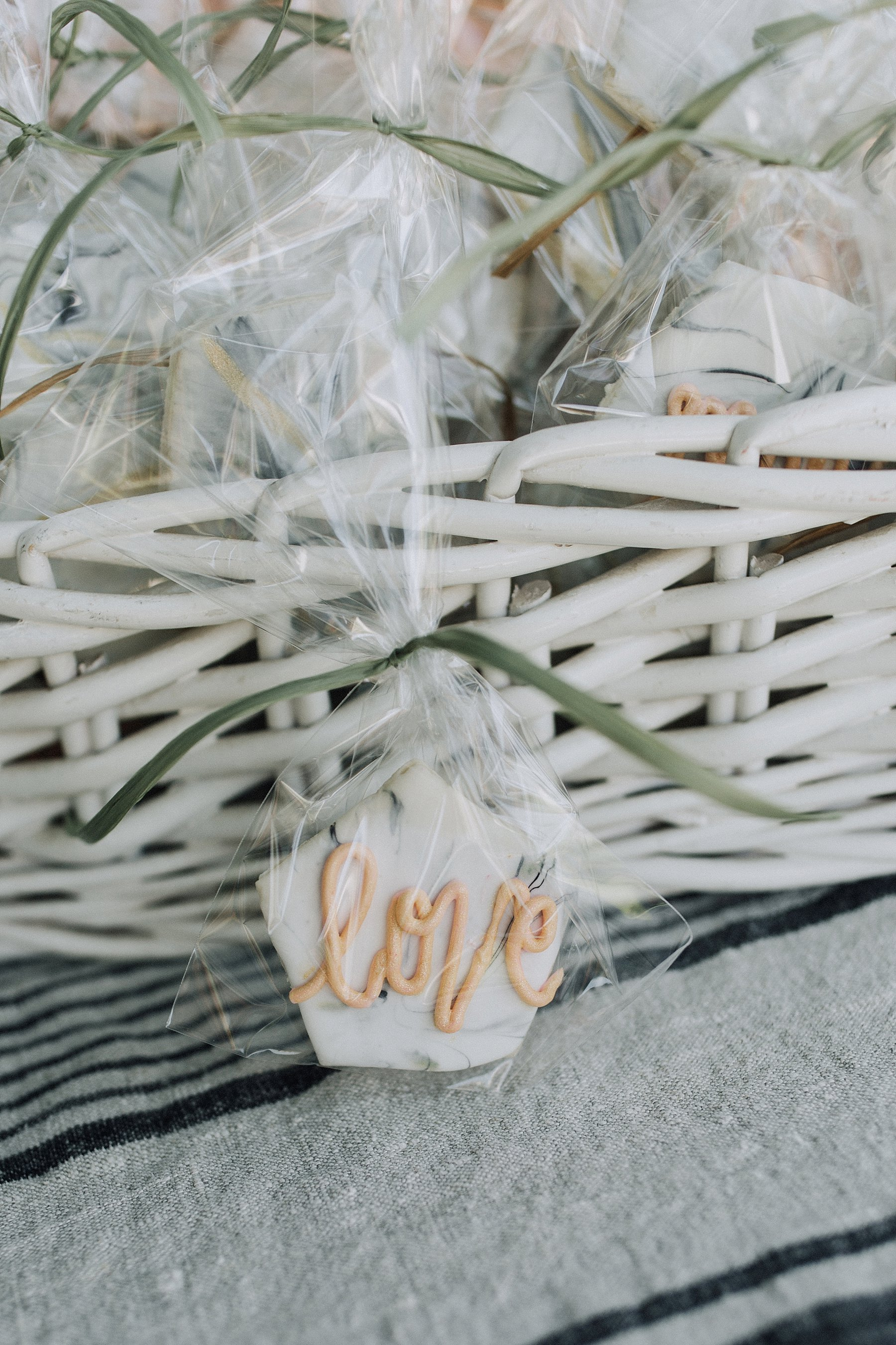 Boho bridal shower gluten free cookies