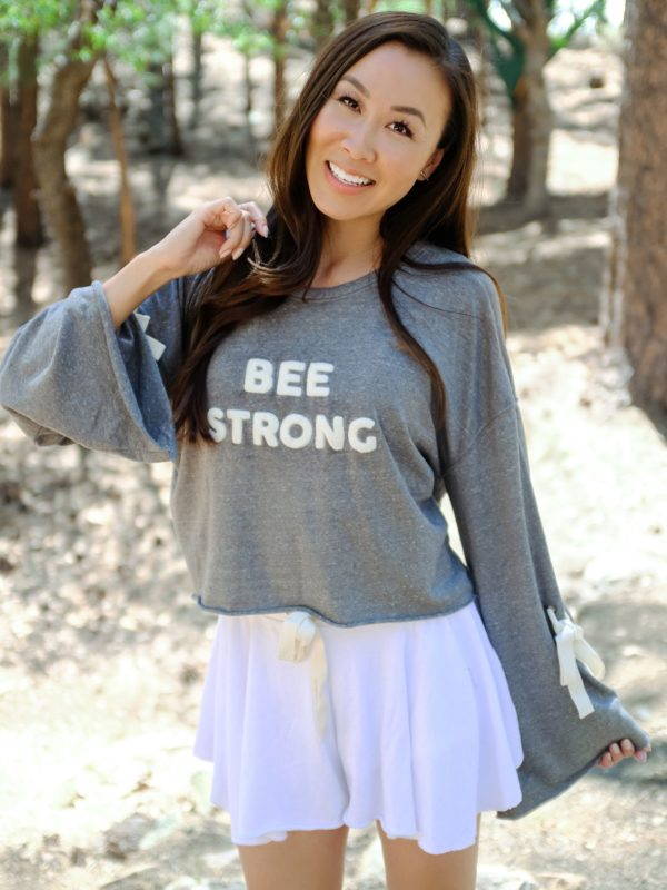 Birdeebee bee strong sweatshirt