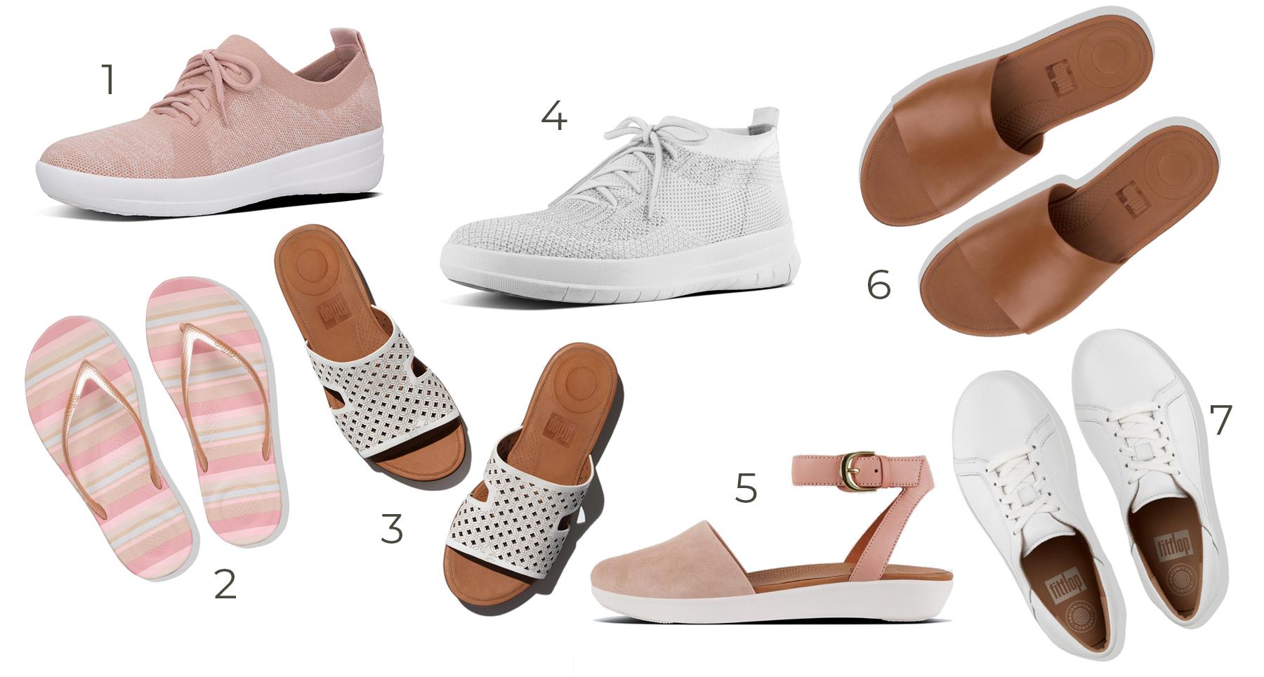 Fitflop favorites, comfortable ergonomic shoes