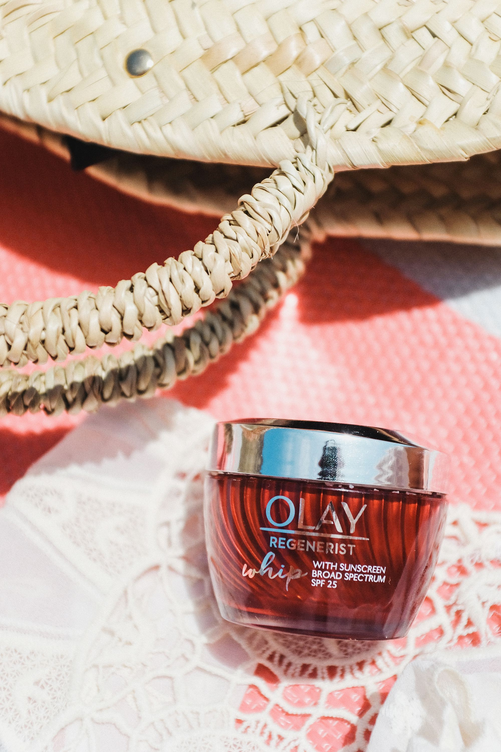 olay SPF 25 whip protection great as a primer and preventing shine available on amazon