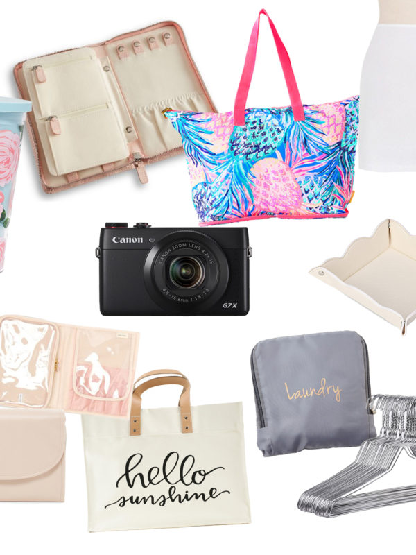 Top 10 favorite must have travel products I take with me when I travel - from a fashion lifestyle blogger and photographer
