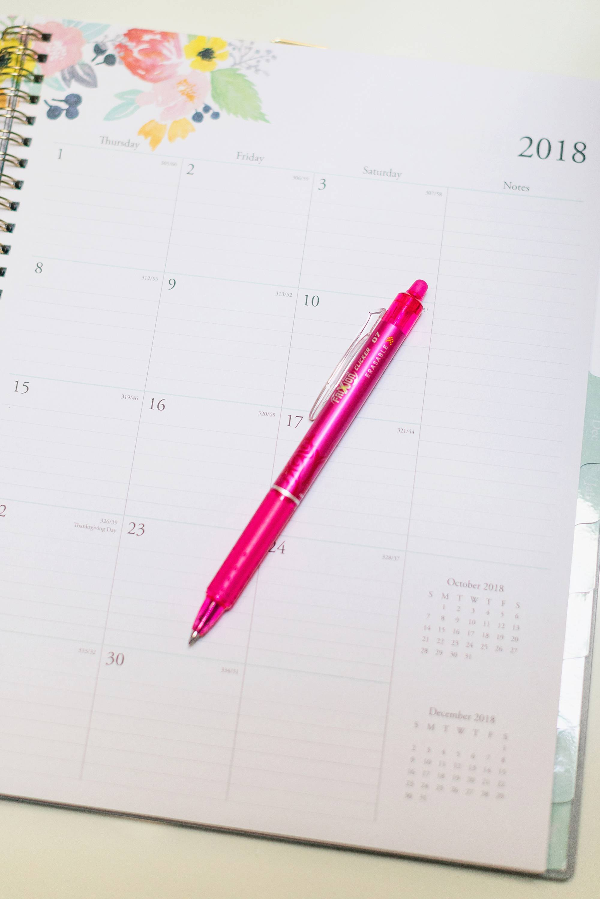 weekly planner favorite for a blogger