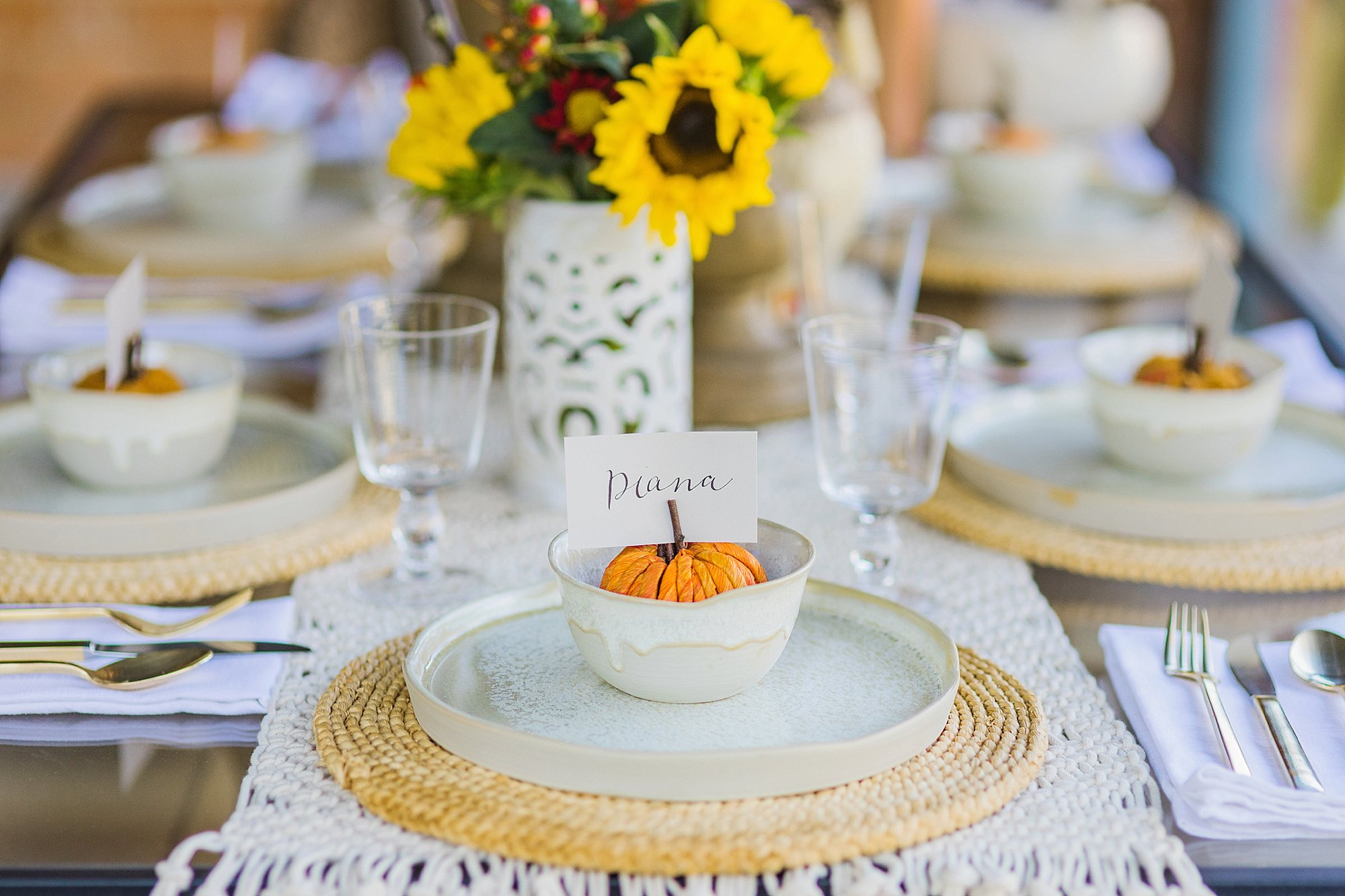 fall decor outdoor entertaining with balsam hill - pumpkin set the table for thanksgiving harvest
