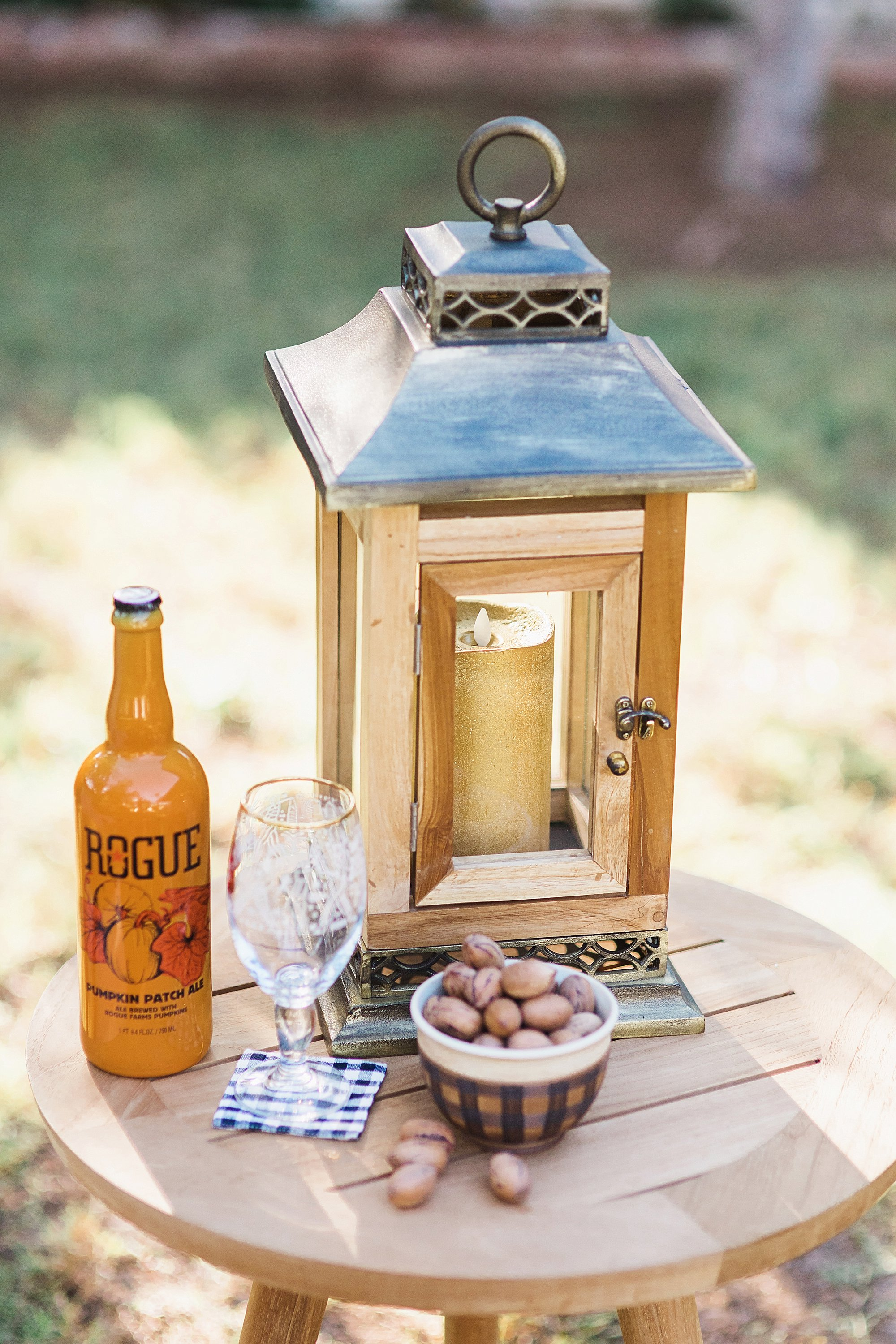 fall decor outdoor entertaining with balsam hill - lantern