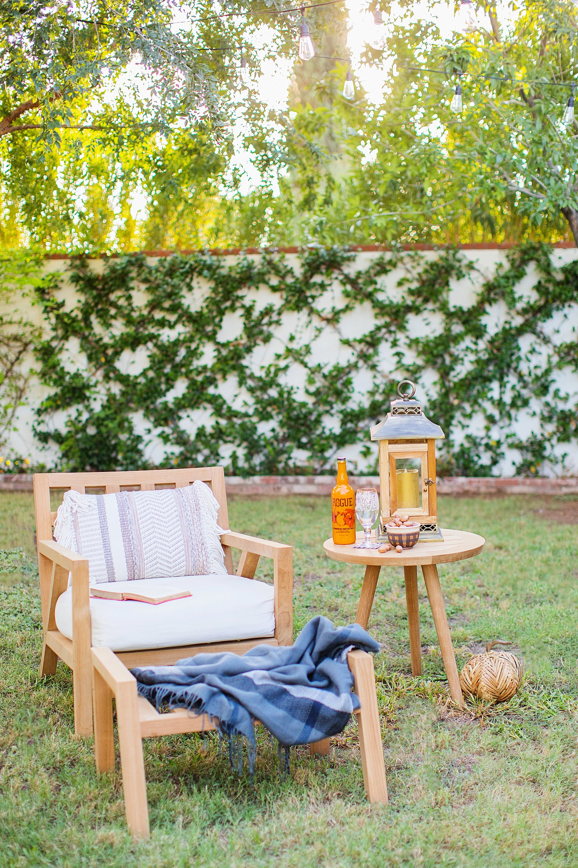 fall decor outdoor entertaining with balsam hill - thos baker