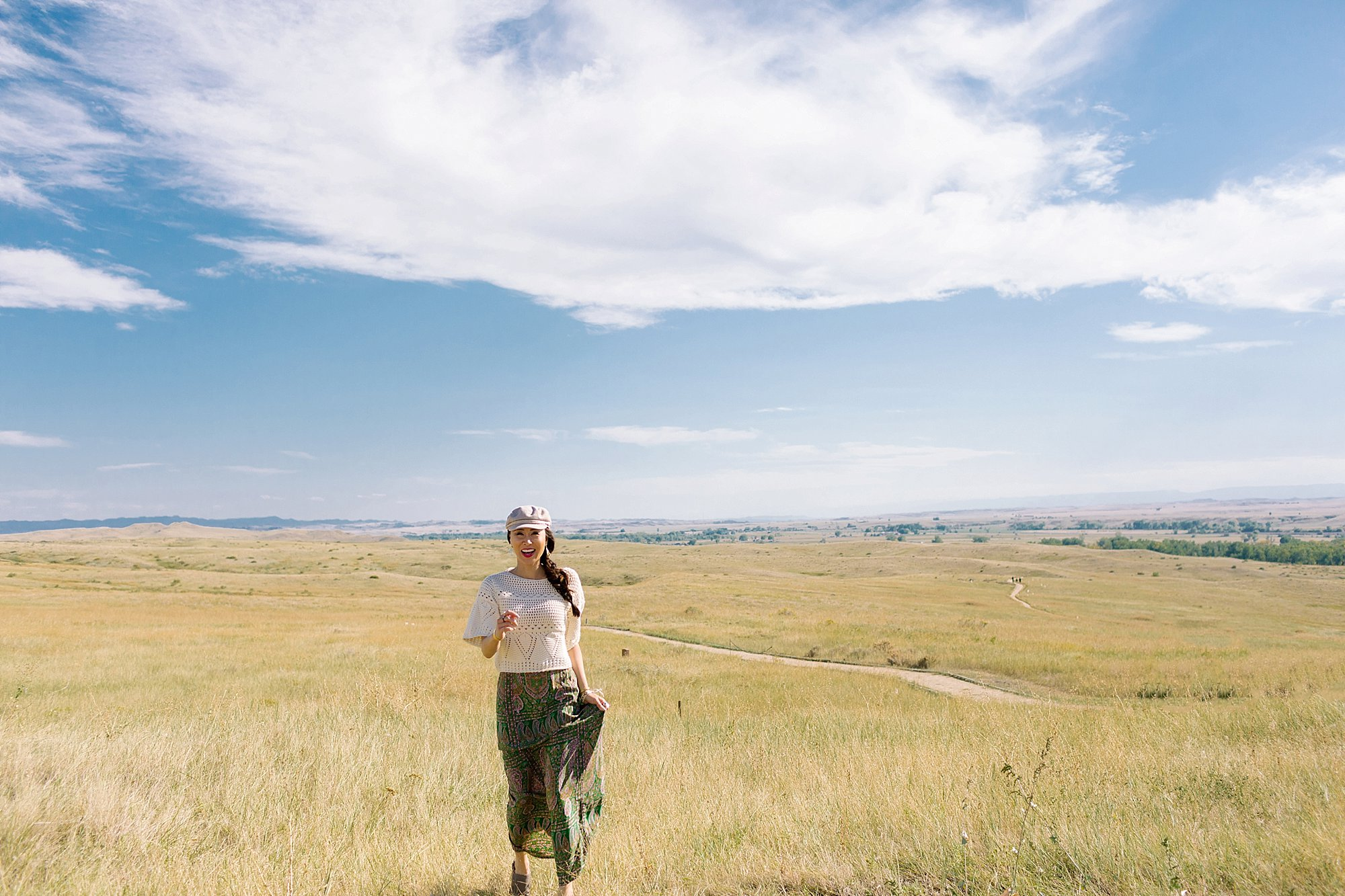 montana in fields Little Bighorn battlefield