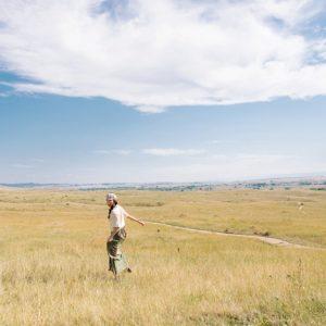 montana in fields Little Bighorn battlefield