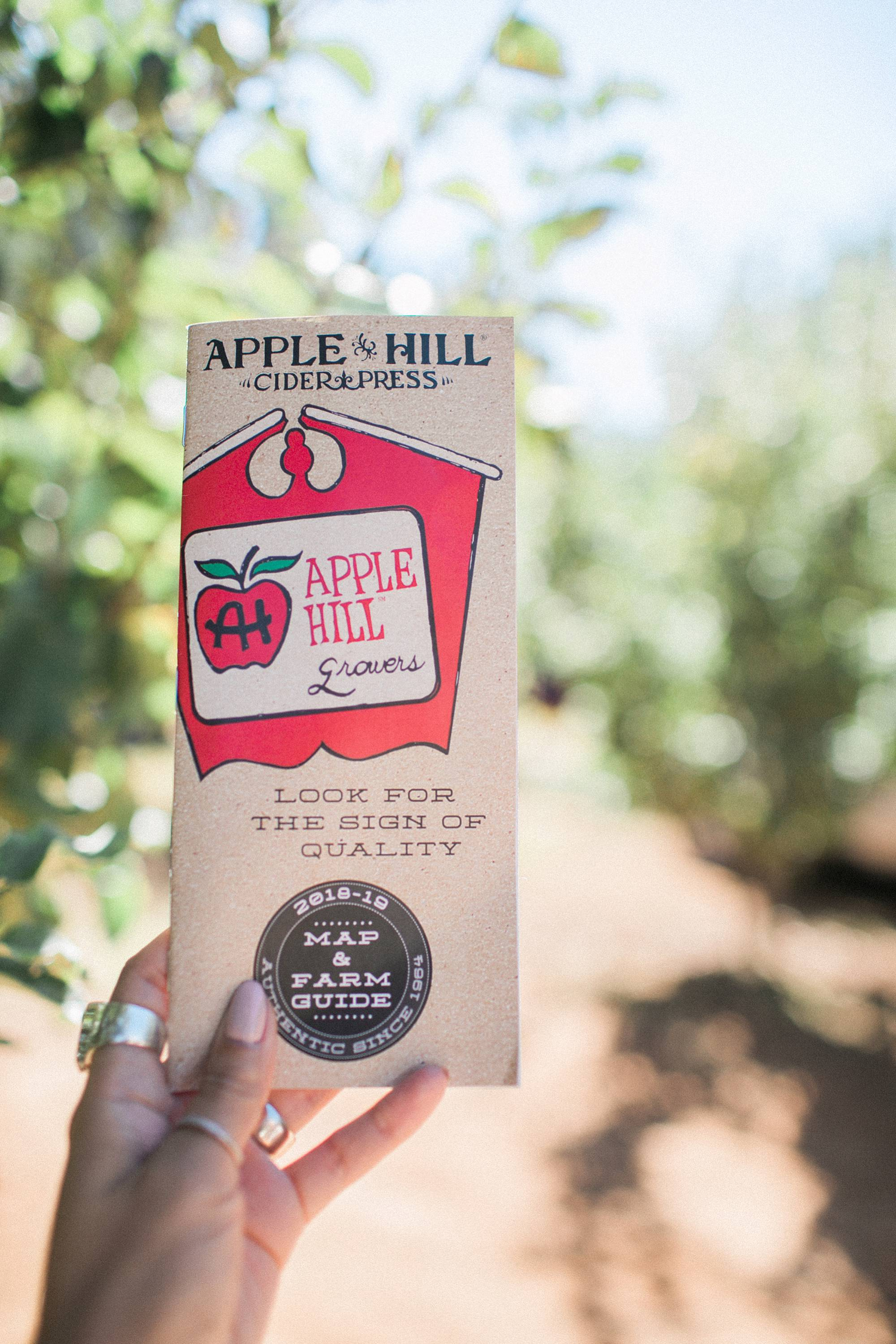 apple hill map California
