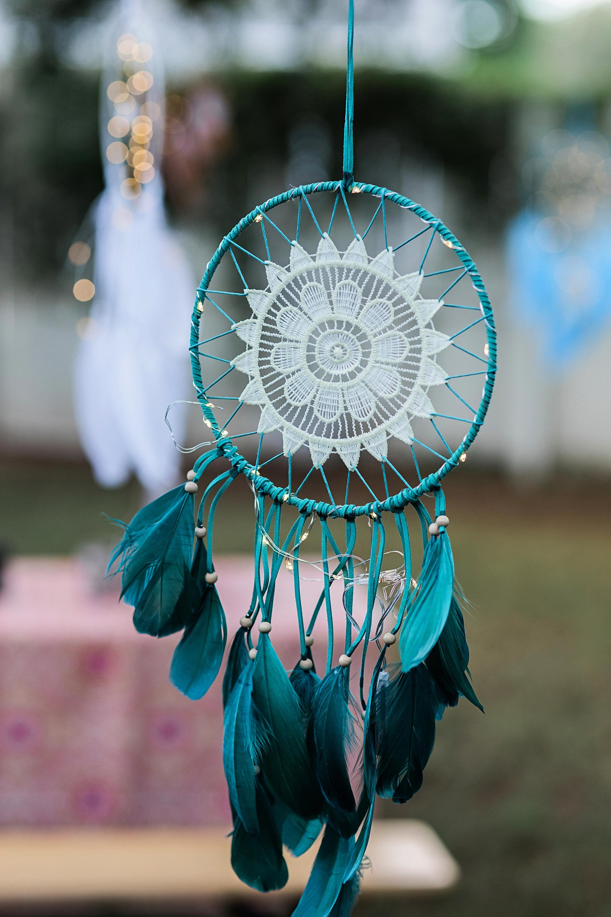 LED dream catcher boho theme party - Boho shower party boho nights girls theme party with neon cactus light Fromm the 99 cent only store! Check out this party all 99 cent only products #dreamcatcher