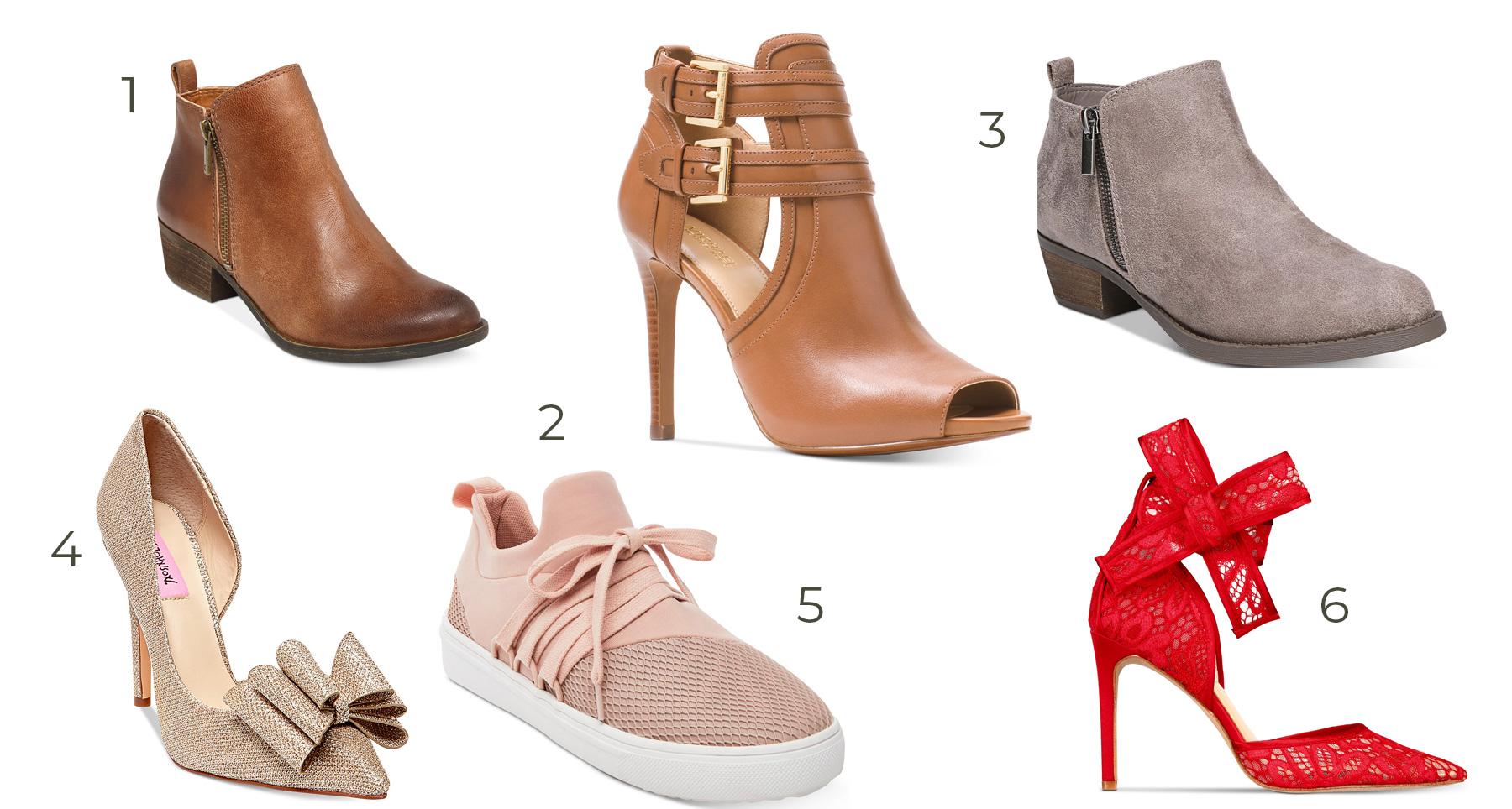 macy's huge shoe sale
