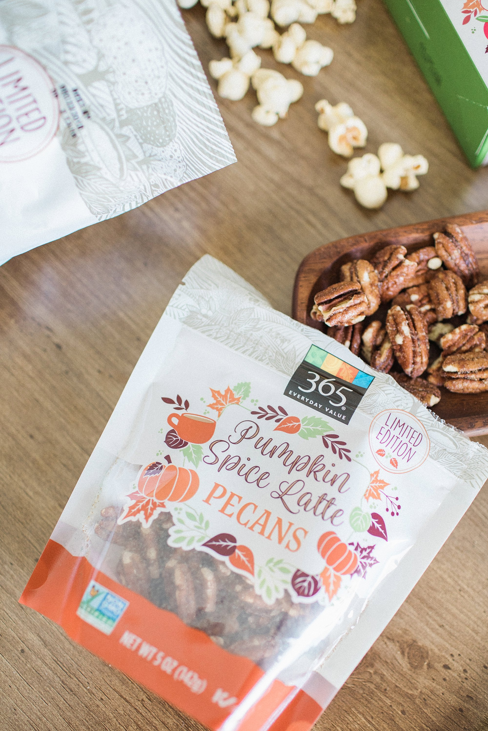 Pumpkin Spice Latte Pecans from Whole Foods