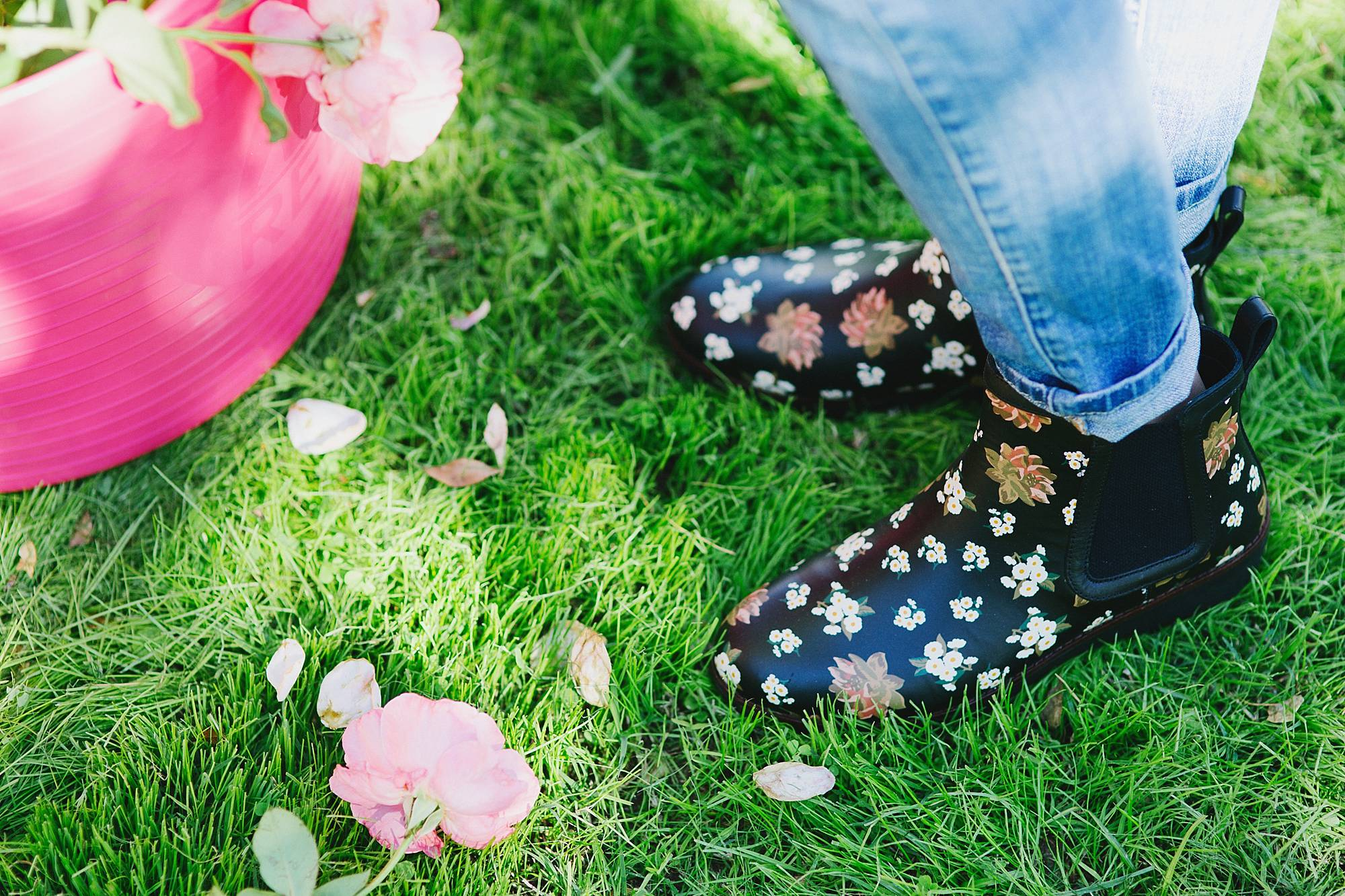c86bf8d5a94e Taking Breaks and Rose Pruning in Floral Booties