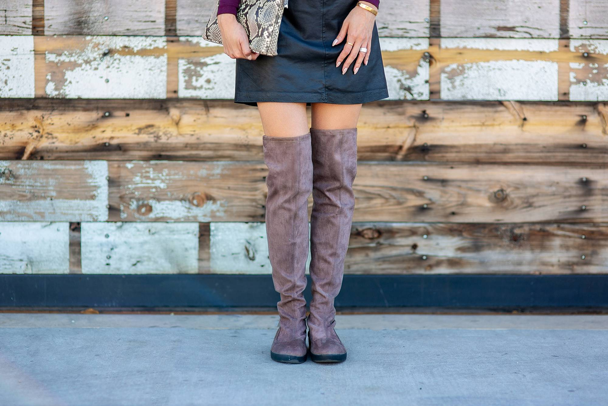 FitFlop over the knee sock boot alice