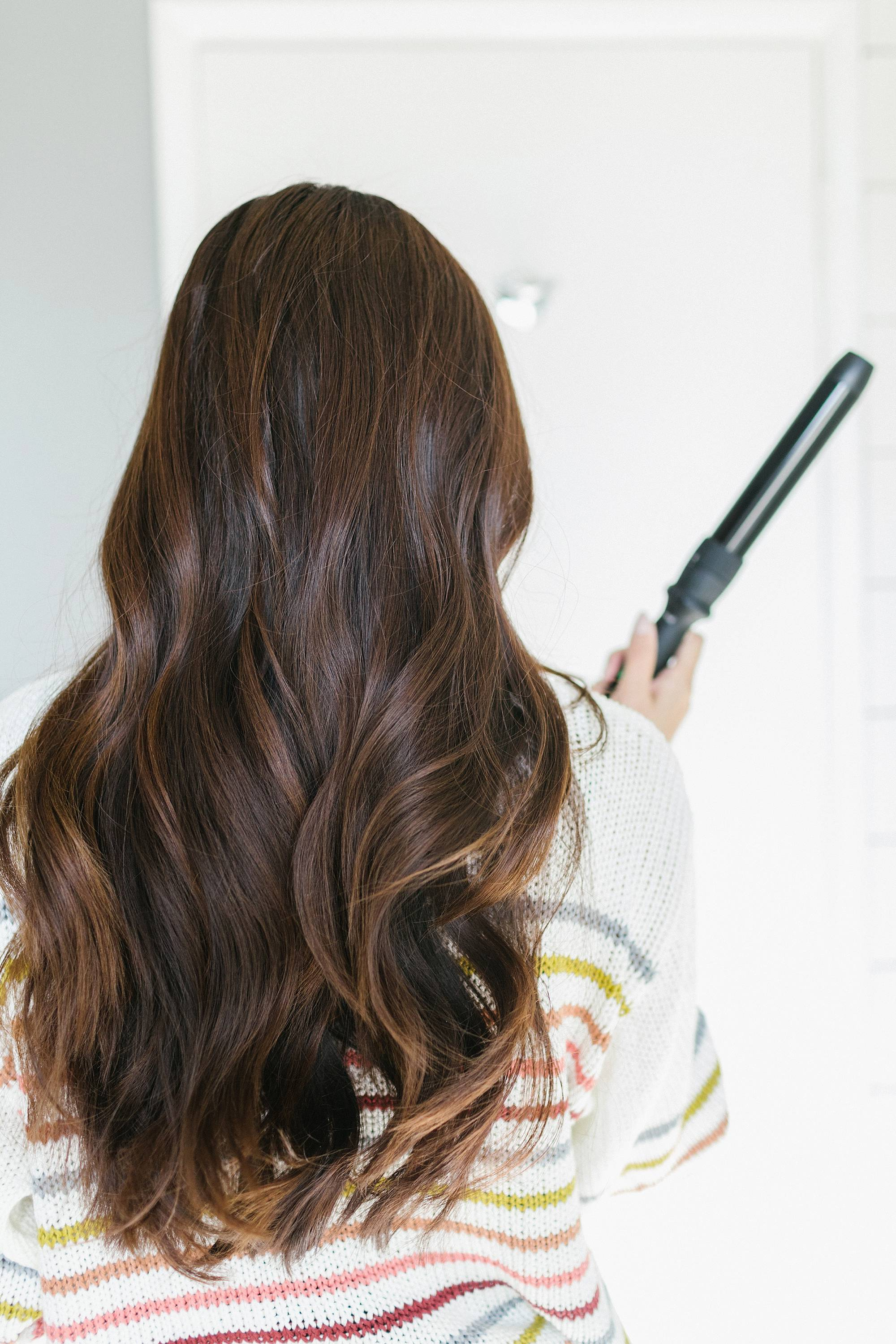 Review of the NuMe octwand 8 different looks for hair interchangeable barrels