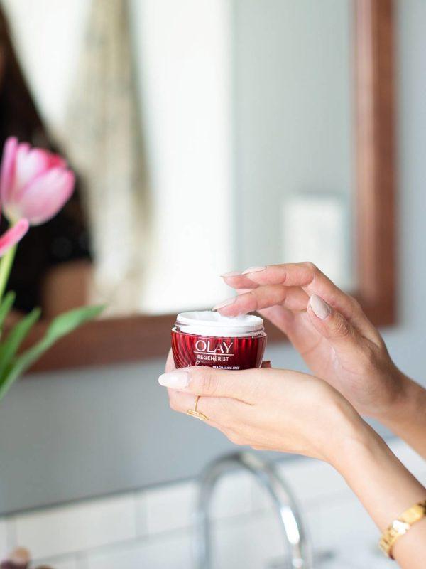 olay fragrance free moisturizer whip