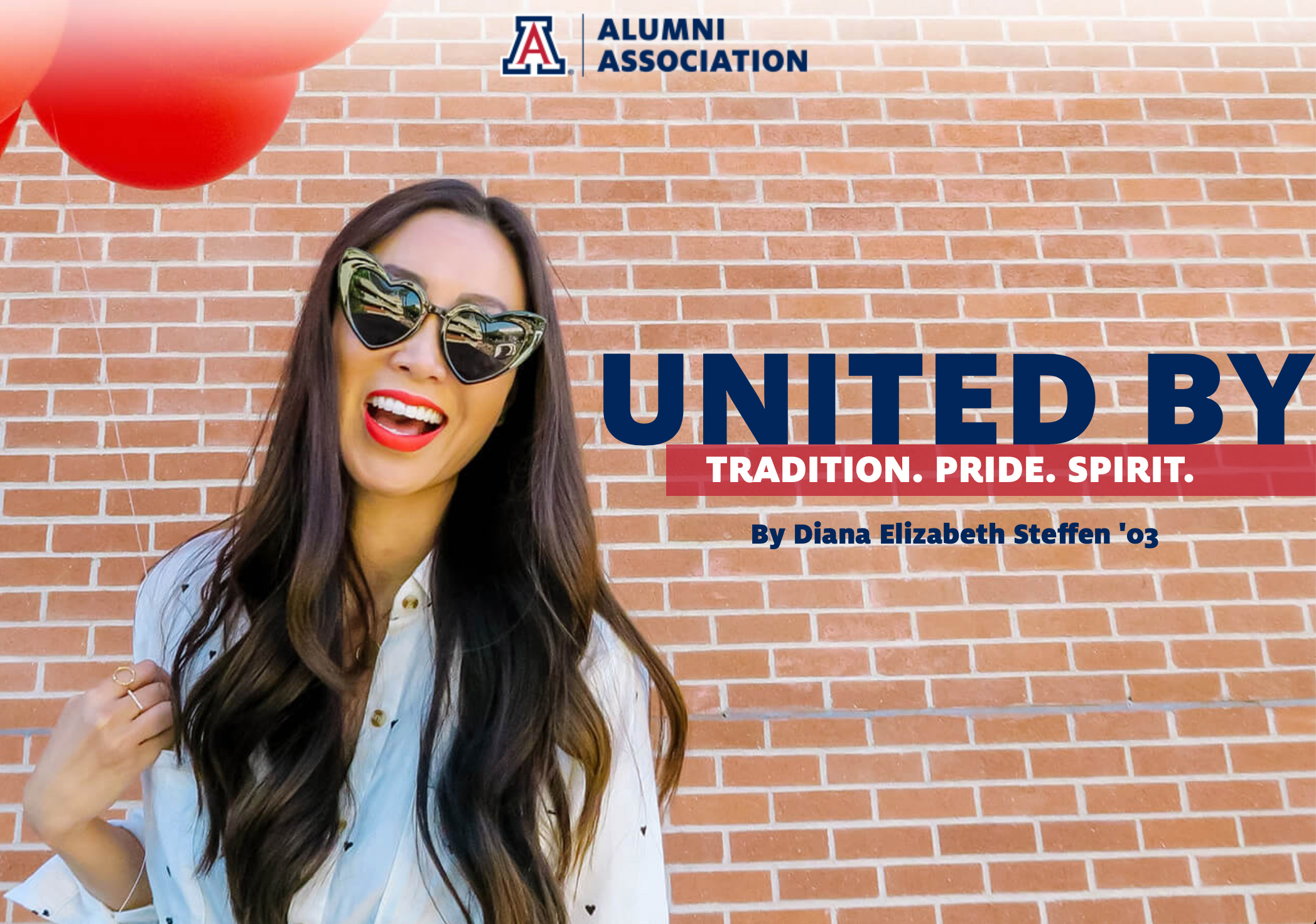 university of arizona blogger Diana Elizabeth covers homecoming featured on uaaa site