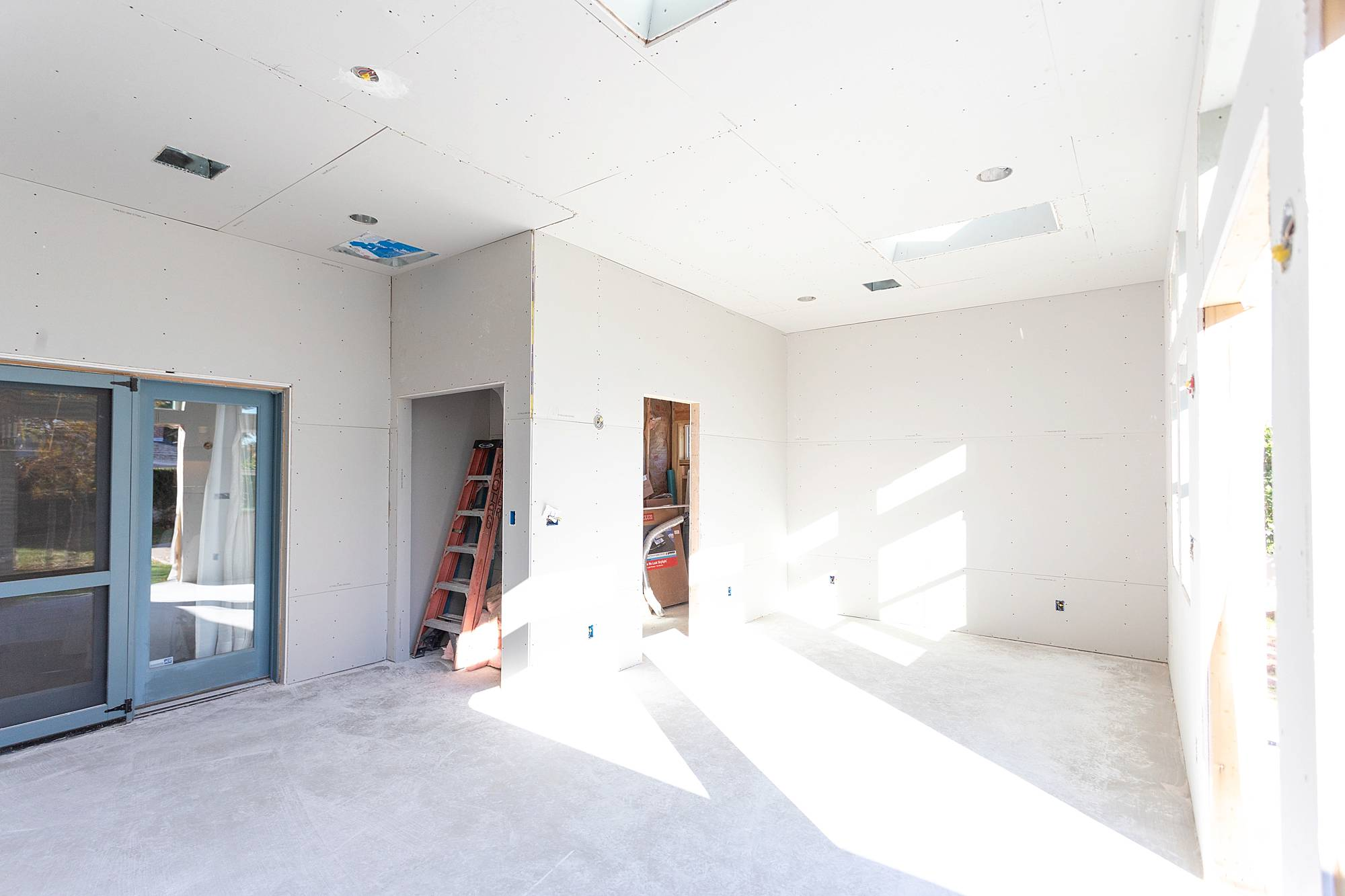 drywall up for Phoenix home expansion general contractor scottsdale arizona