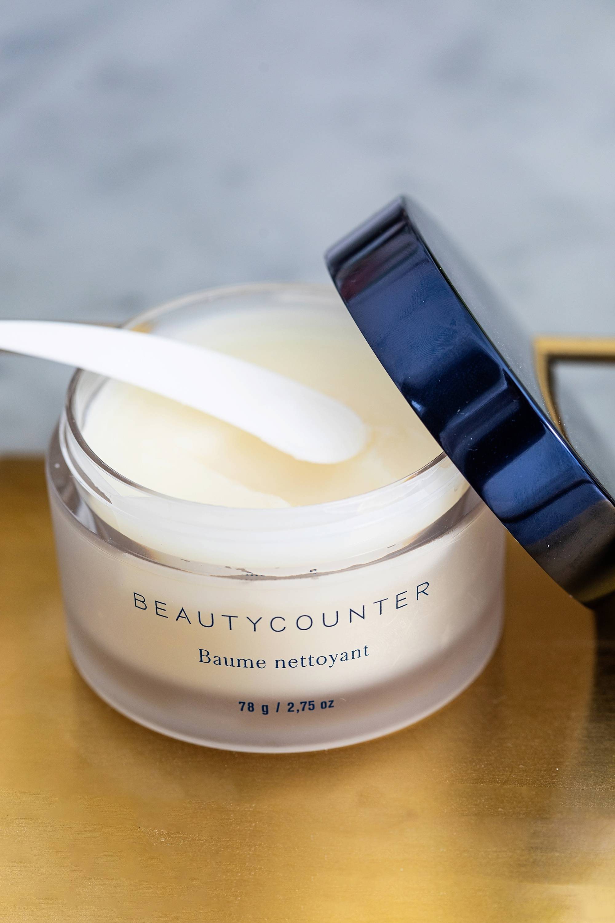 Beautycounter cleansing balm and facial oil