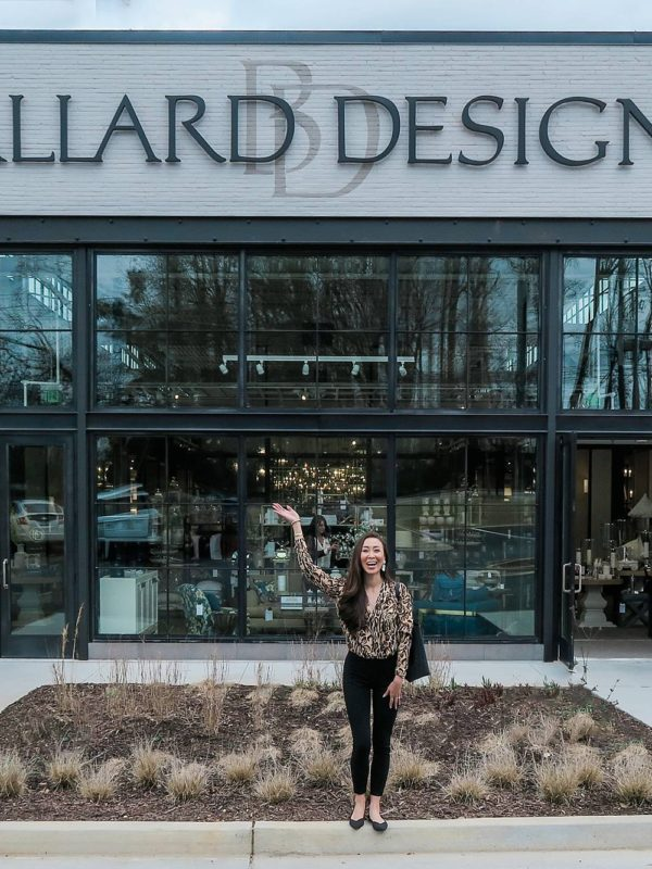 visiting Ballard Designs in Atlanta Georgia for the first time!