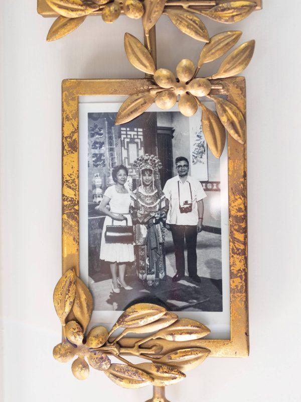 Vertical Three Frame Wall Sculpture Light Gold - Opalhouse™