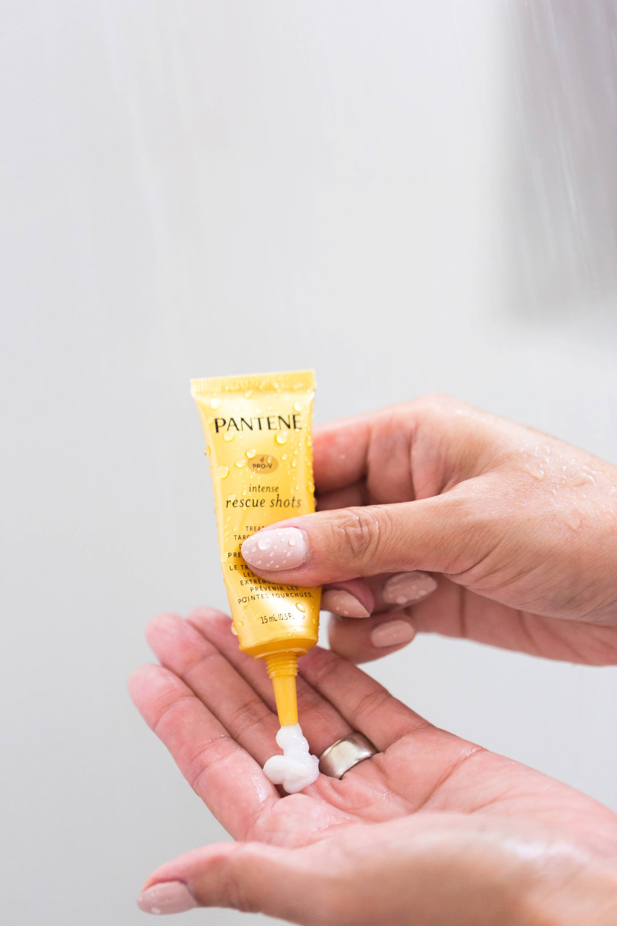 Pantene has new Intense Rescue Shots for great hair only takes 30 seconds!