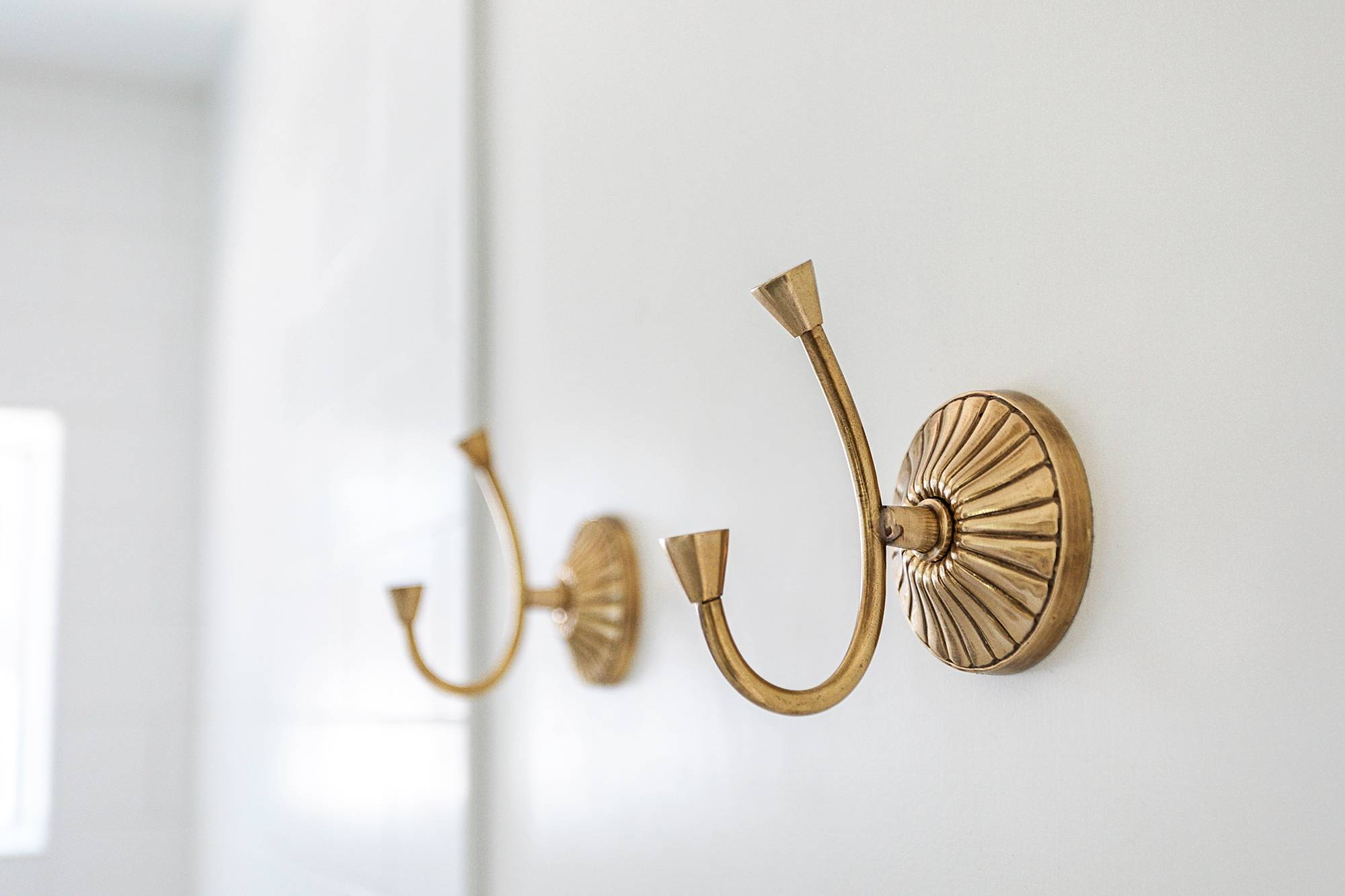 towel hooks brass from Anthropologie
