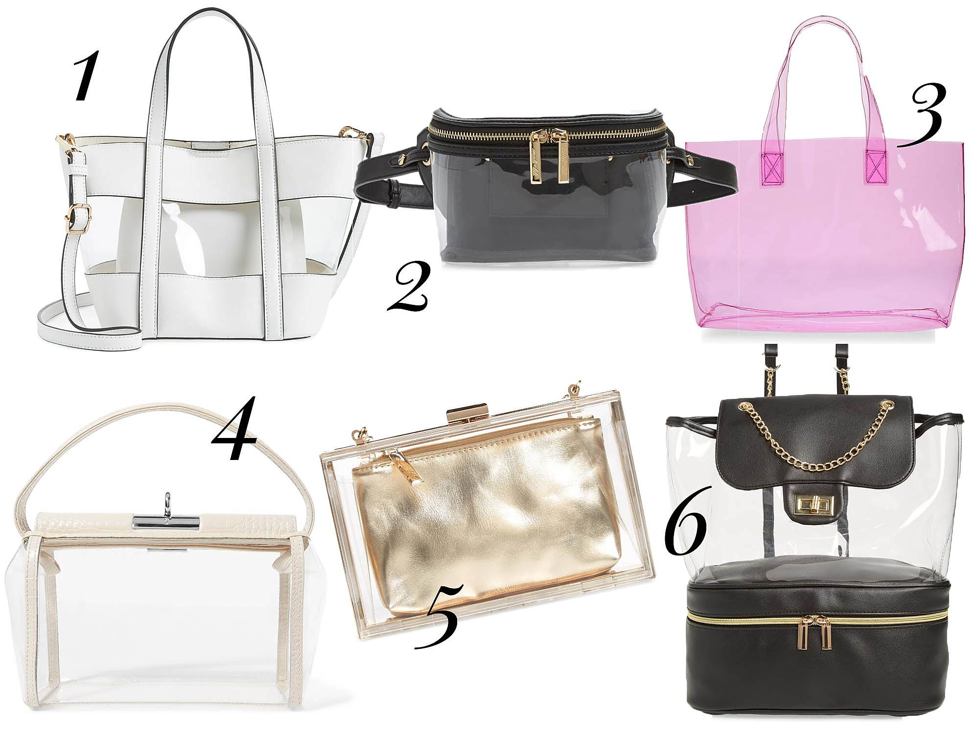 clear tote trend