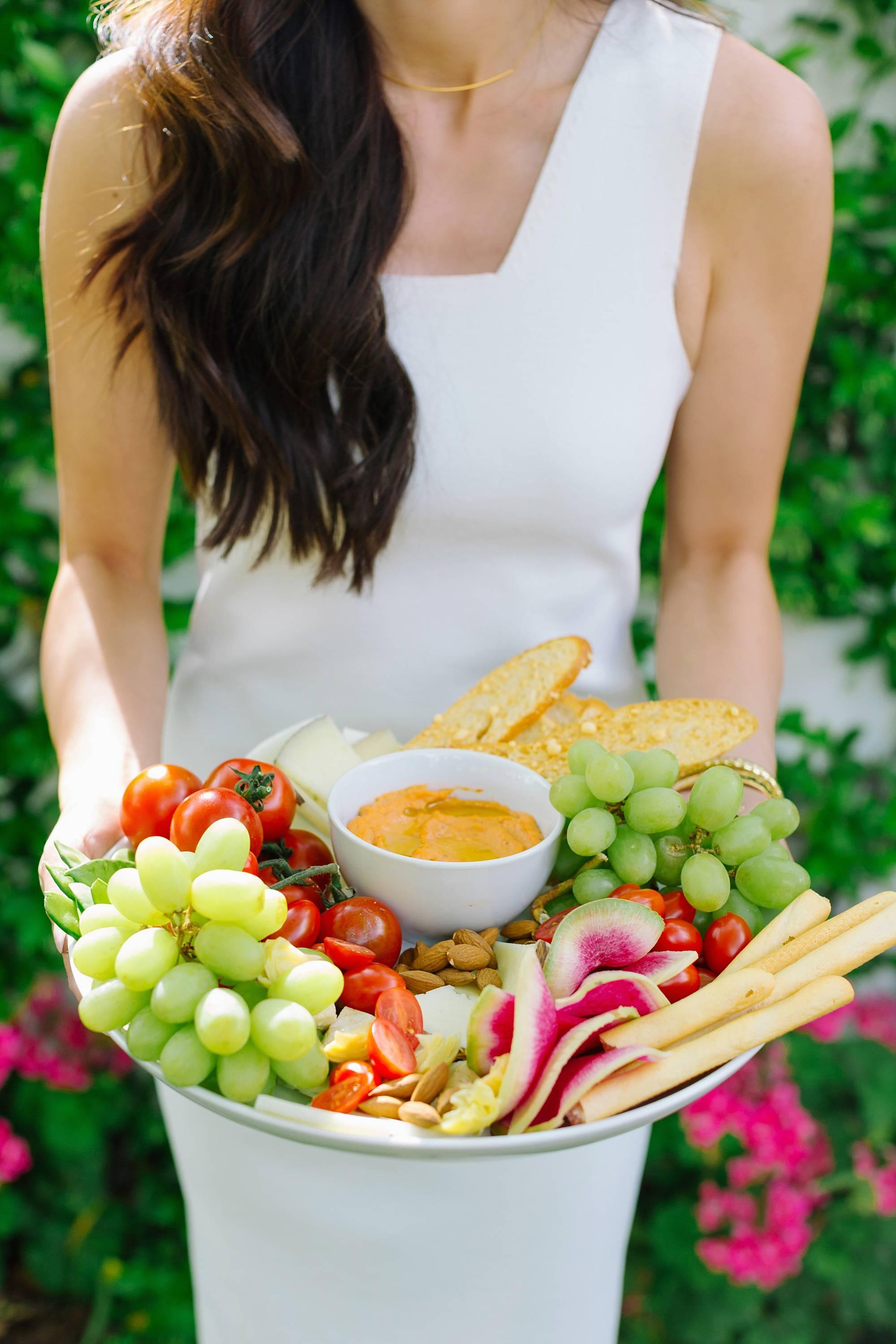 farmers market inspirational get together with decoy wine in the backyard - lifestyle blogger Diana Elizabeth in Phoenix Arizona