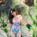 Lilly Pulitzer Palma swimsuit on lifestyle blogger Diana Elizabeth