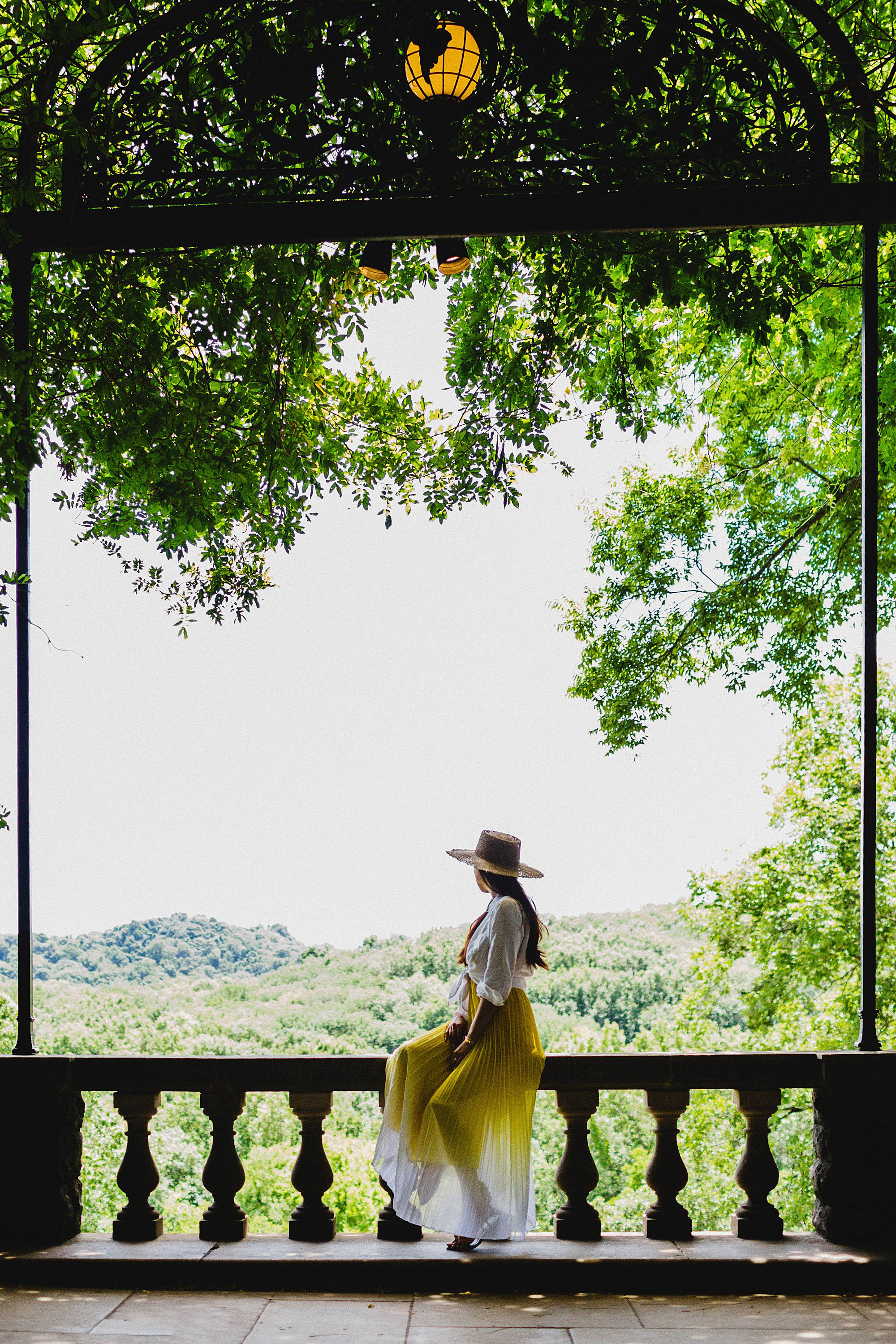 cheekwood in Nashville great instagrammable view in Nashville