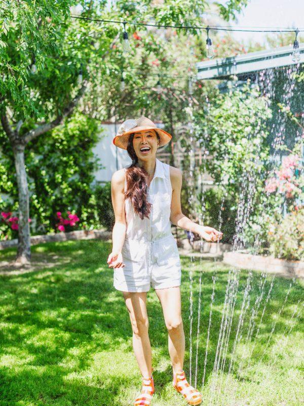 Gilmour rectangular sprinkler for lawn