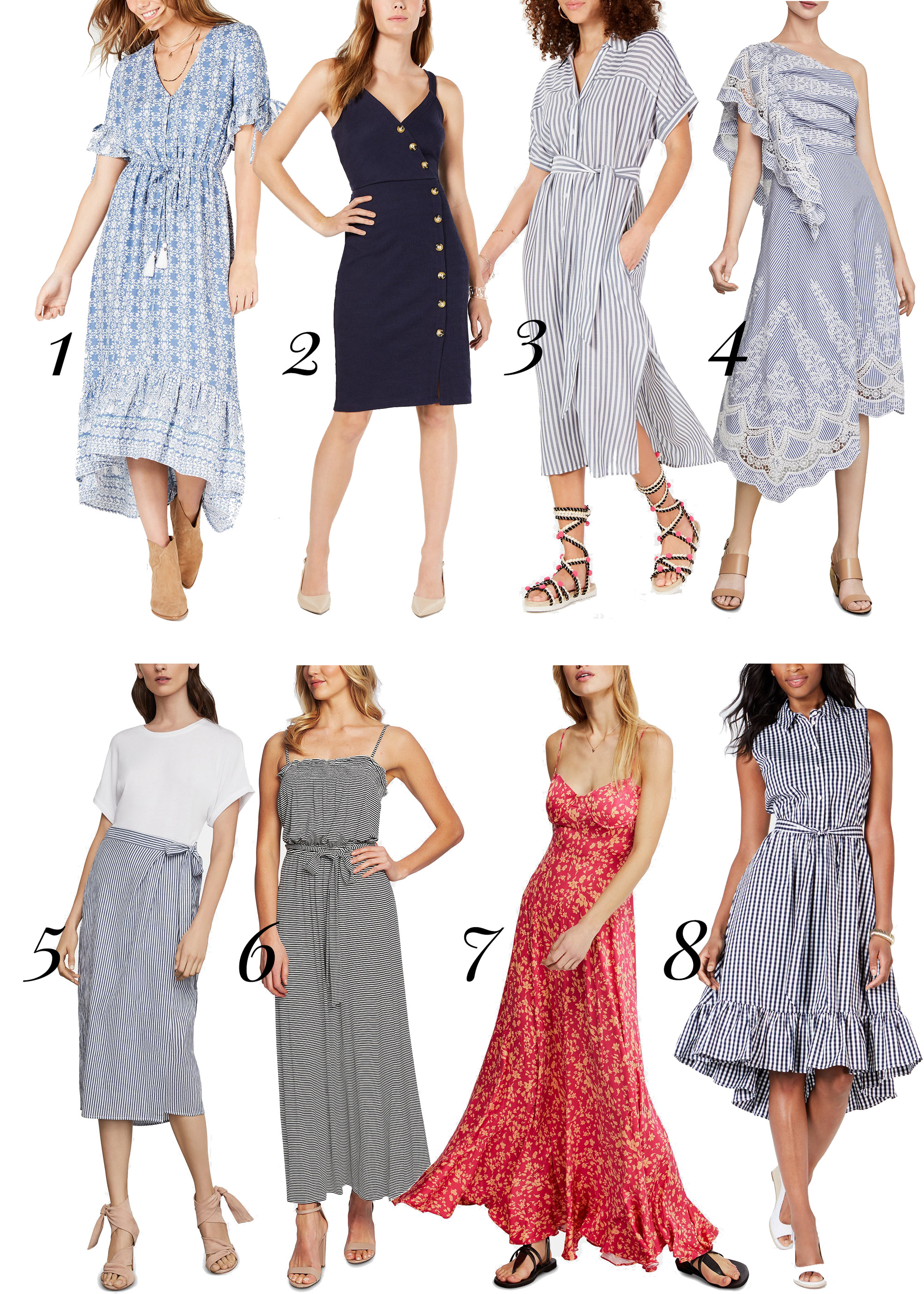 Macy's summer dresses 2019 on sale